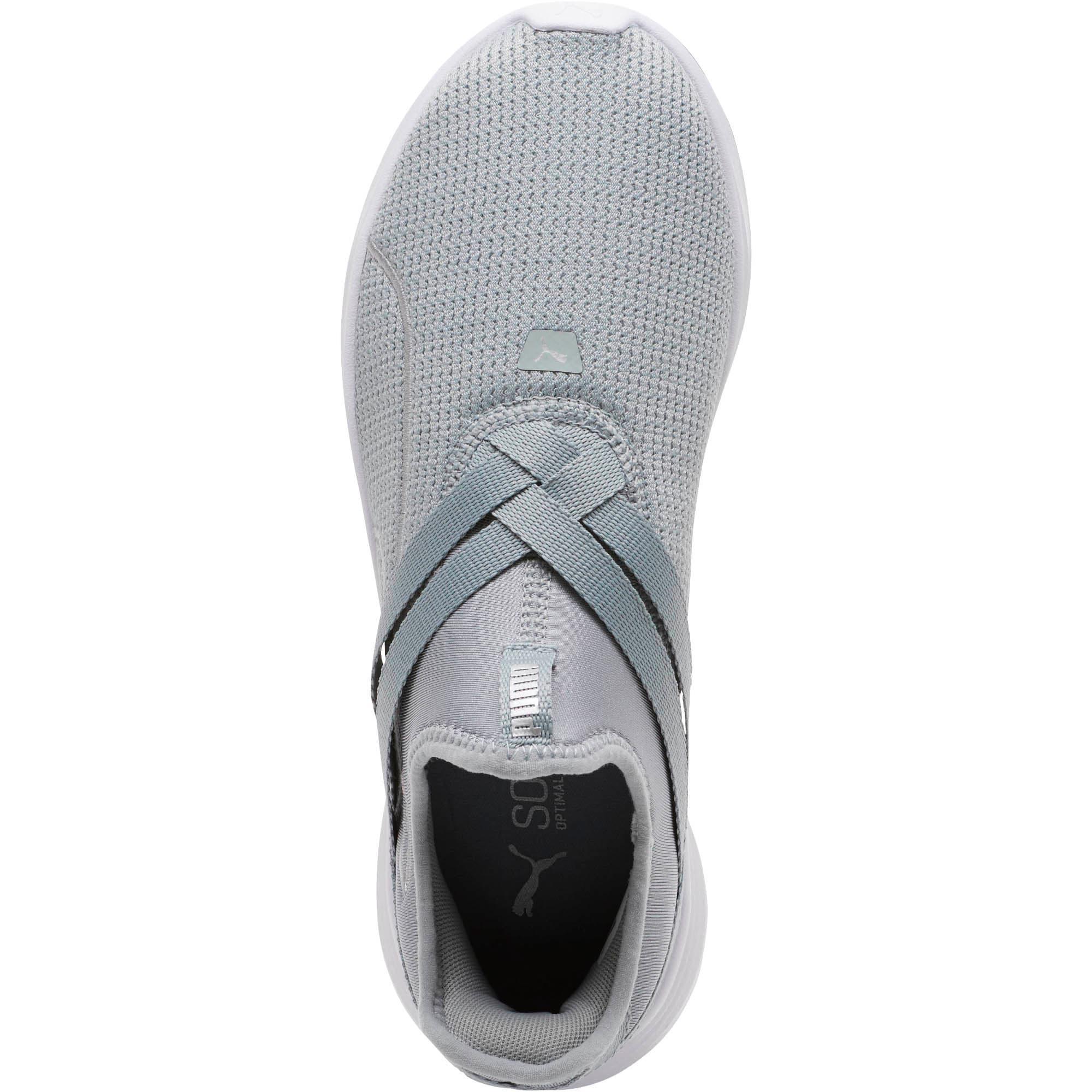 Thumbnail 5 of Radiate XT Slip-On Women's Sneakers, Quarry-Puma Silver, medium