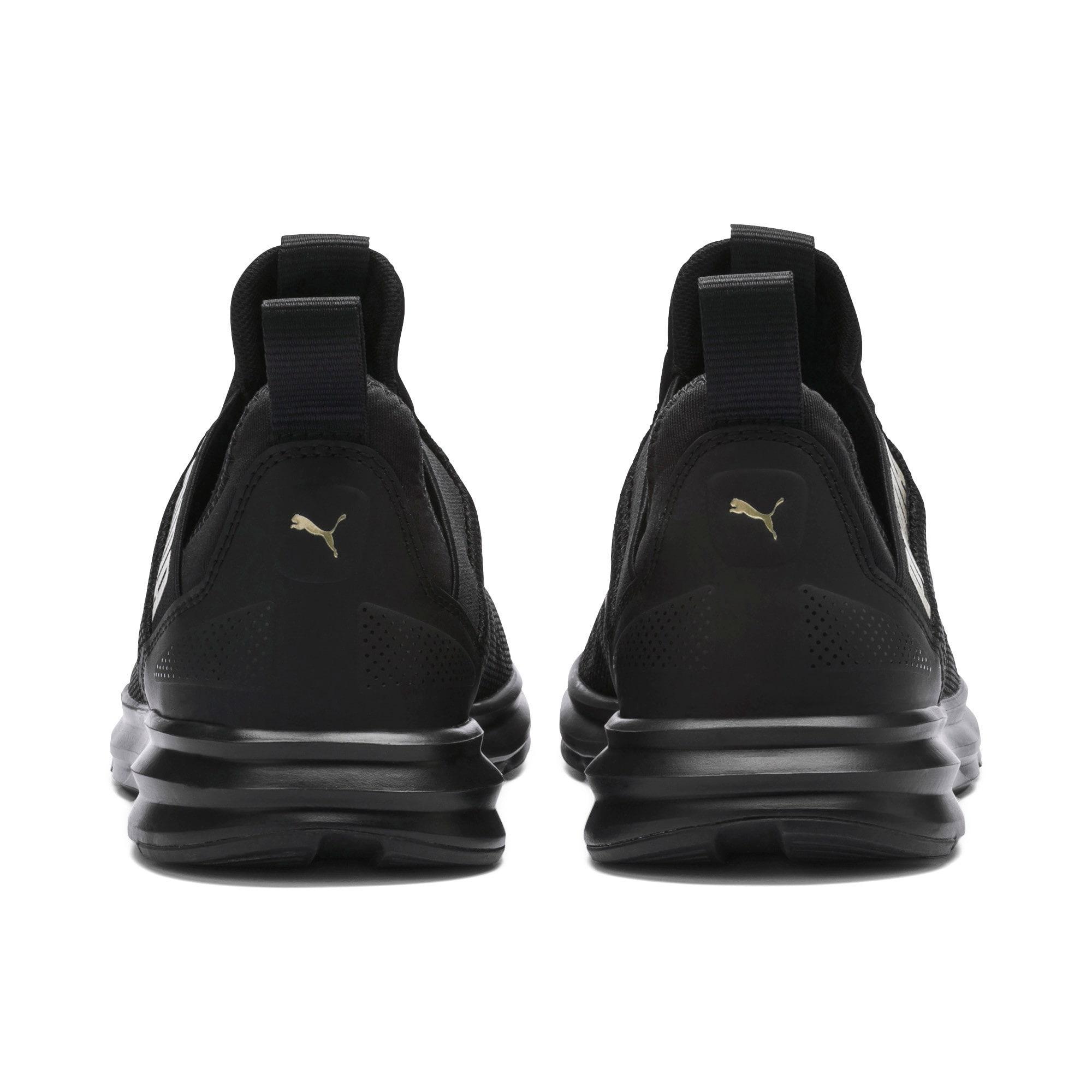 Thumbnail 3 of Enzo Beta Women's Training Shoes, Puma Black-Metallic Gold, medium