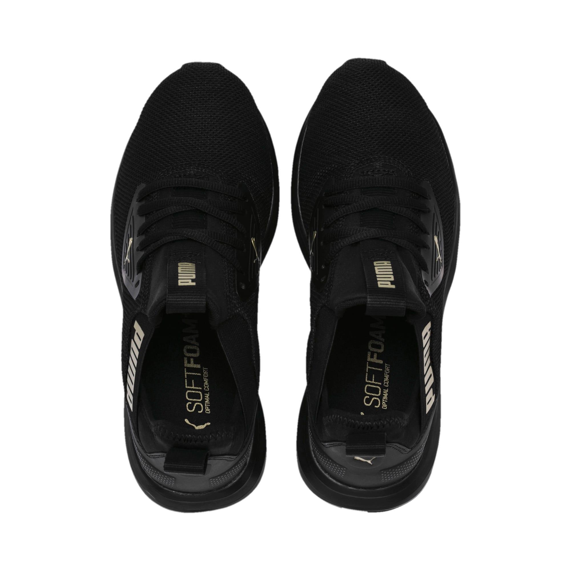 Thumbnail 6 of Enzo Beta Women's Training Shoes, Puma Black-Metallic Gold, medium
