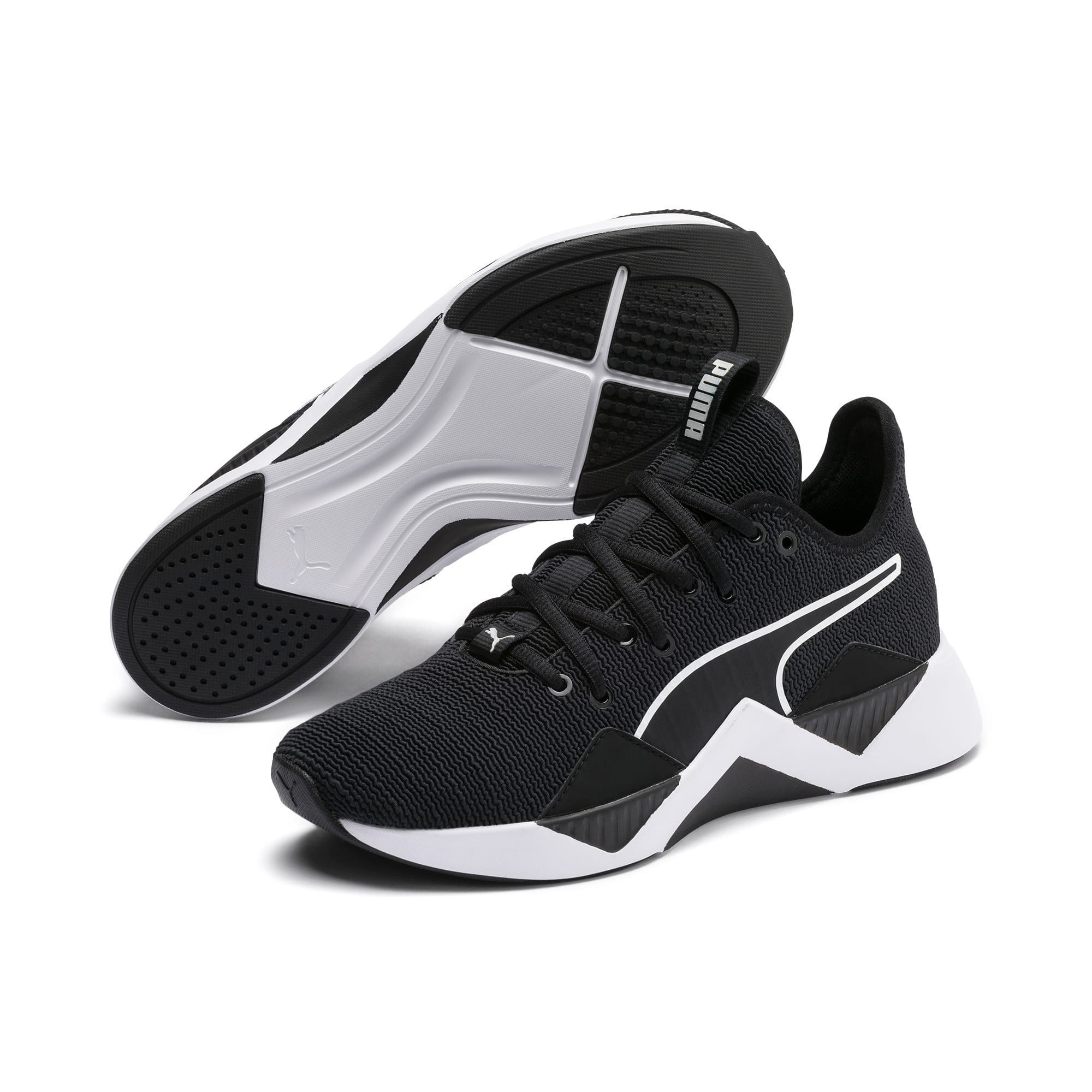 Thumbnail 2 of The Black Incite FS Wave Wn's, Puma Black-Puma White, medium-IND