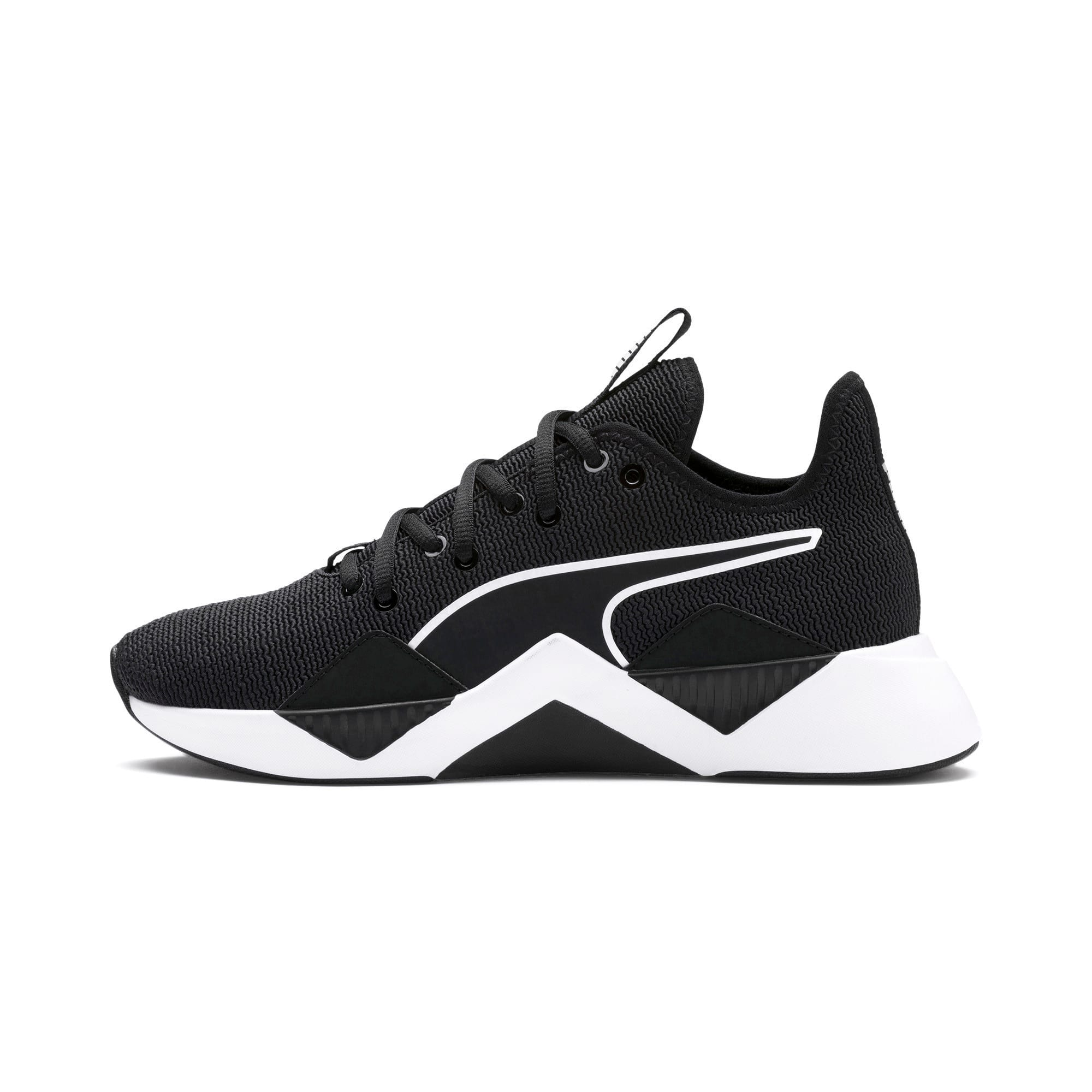 Thumbnail 1 of The Black Incite FS Wave Wn's, Puma Black-Puma White, medium-IND