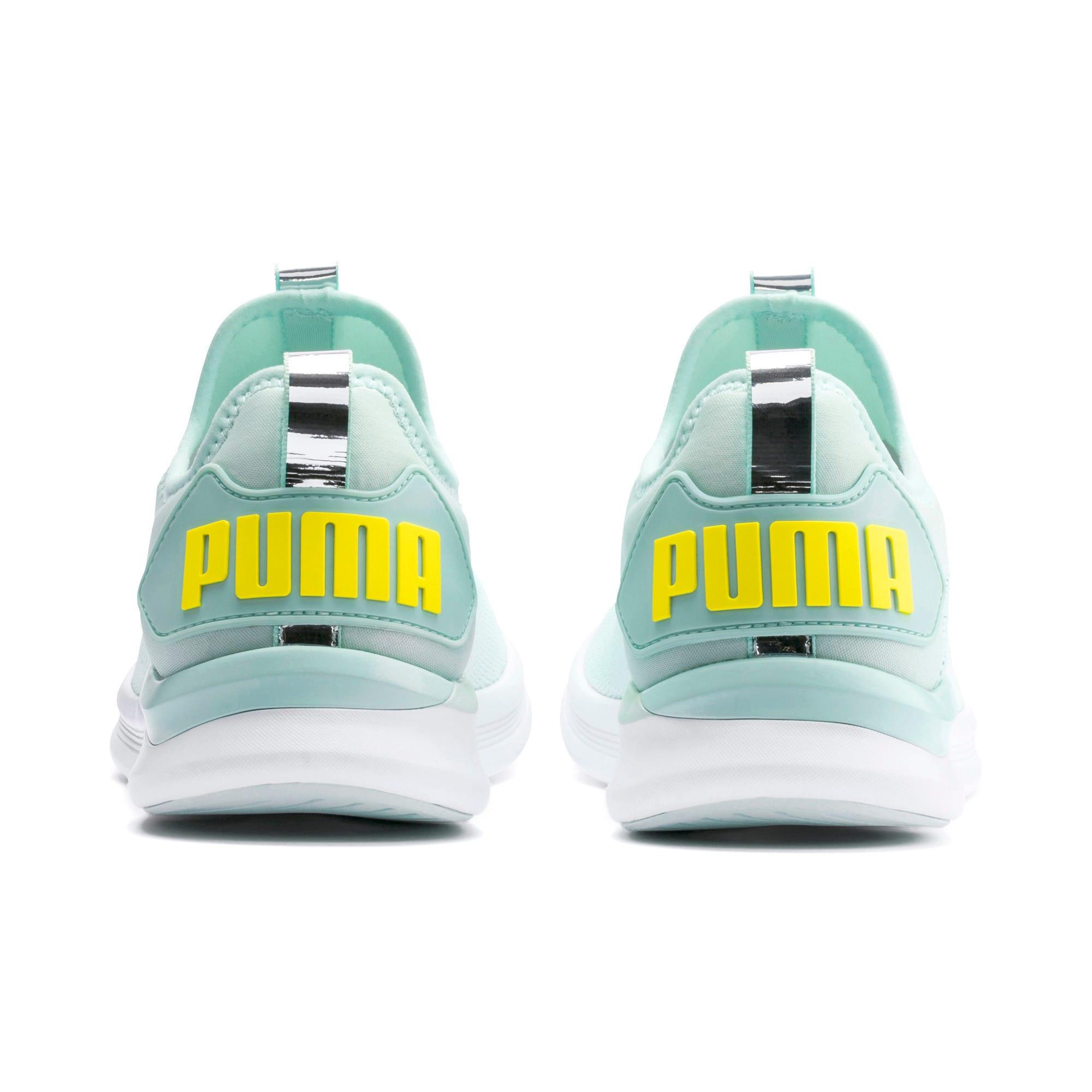 Thumbnail 3 of IGNITE Flash evoKNIT Women's Running Shoes, Fair Aqua-Blazing Yellow, medium-IND