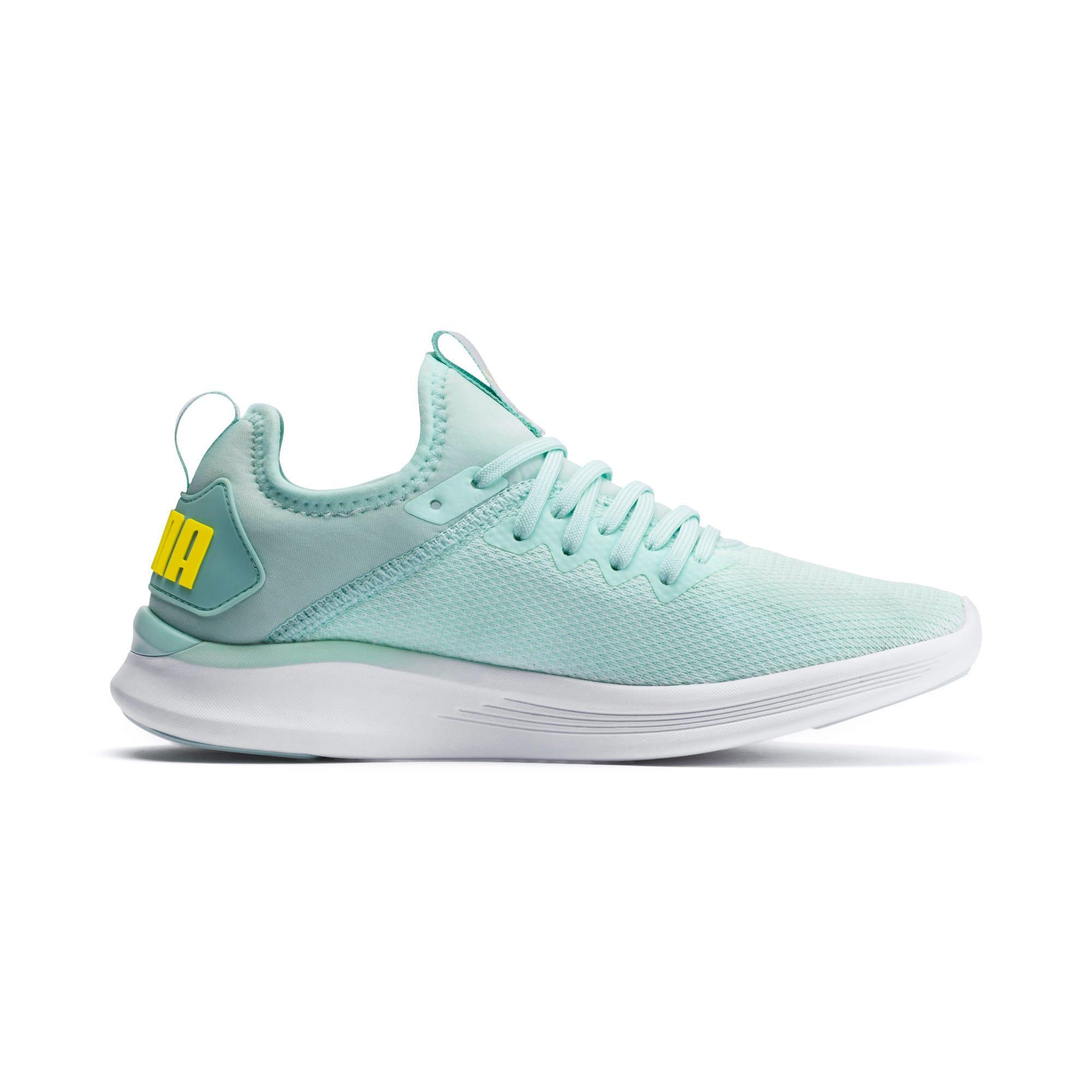 Thumbnail 5 of IGNITE Flash evoKNIT Women's Running Shoes, Fair Aqua-Blazing Yellow, medium-IND