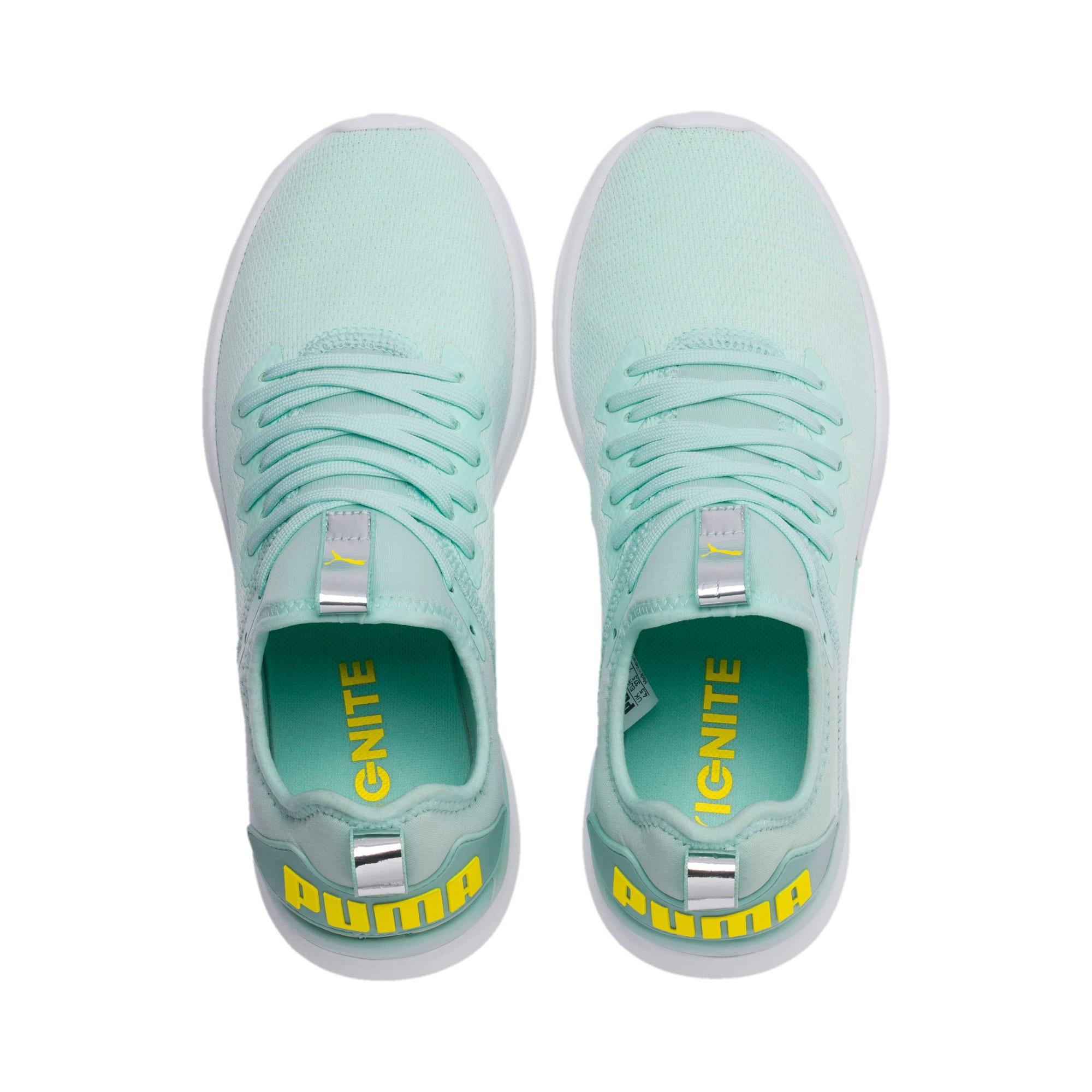 Thumbnail 6 of IGNITE Flash evoKNIT Women's Running Shoes, Fair Aqua-Blazing Yellow, medium-IND
