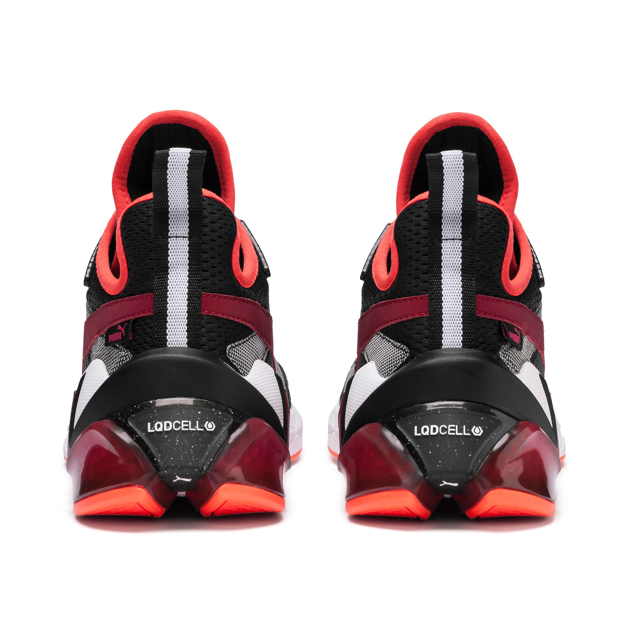 Thumbnail 4 of LQDCELL Origin Tech Men's Shoes, Puma Black-Rhubarb, medium