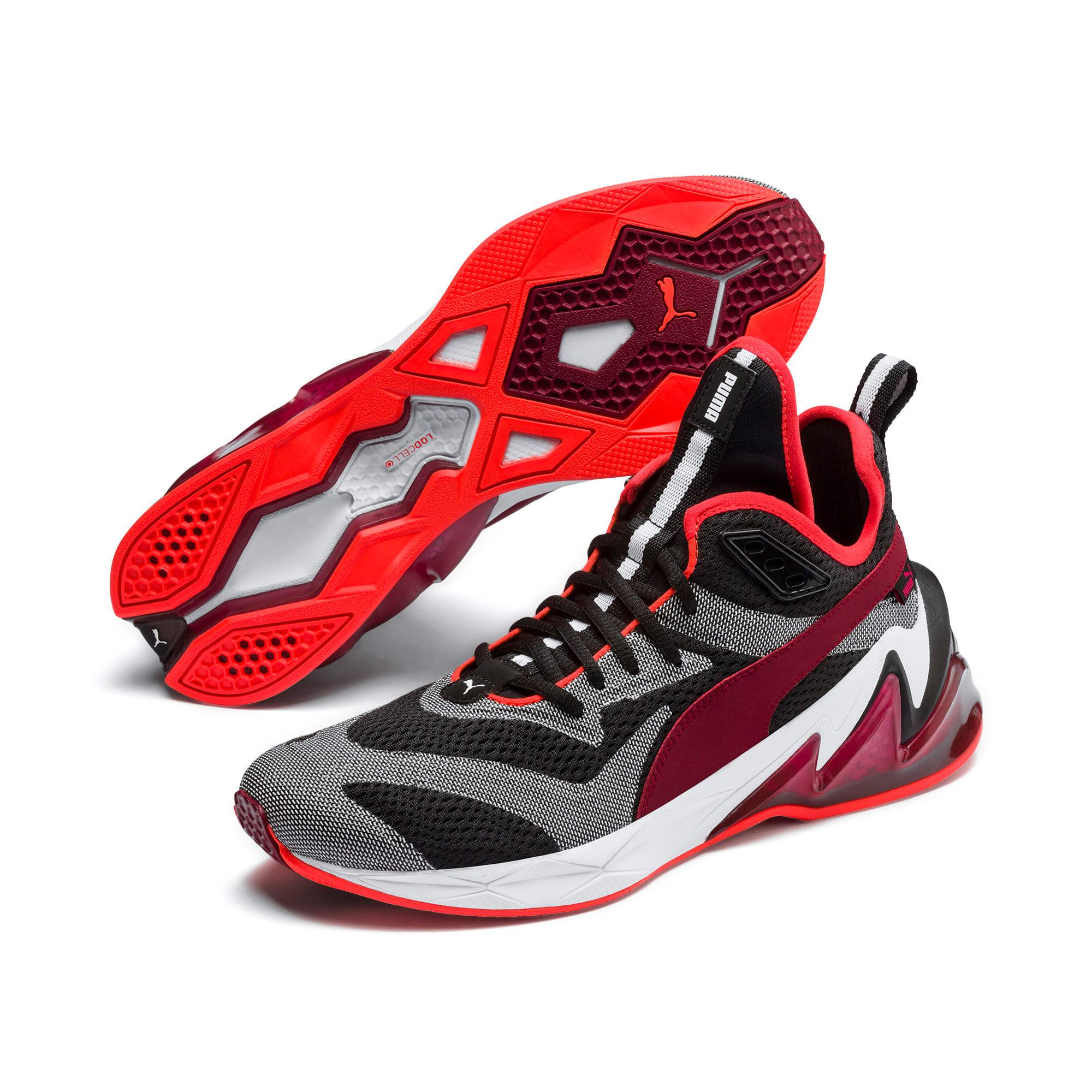 Thumbnail 3 of LQDCELL Origin Tech Men's Shoes, Puma Black-Rhubarb, medium