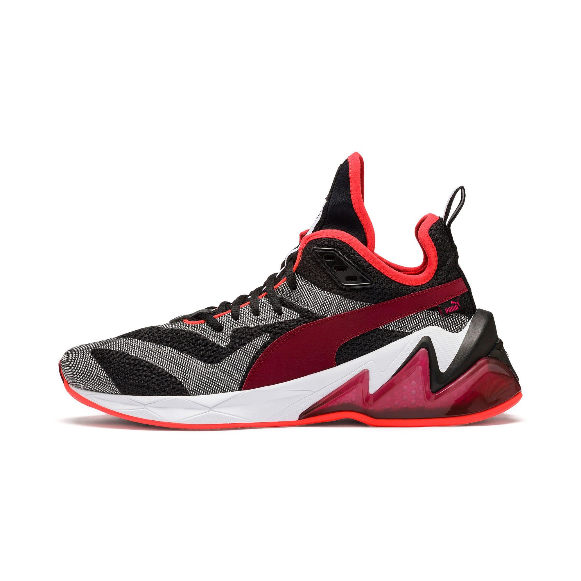 Thumbnail 1 of LQDCELL Origin Tech Men's Shoes, Puma Black-Rhubarb, medium