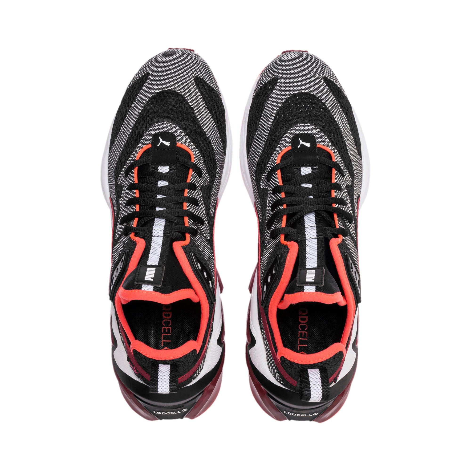 Thumbnail 7 of LQDCELL Origin Tech Men's Shoes, Puma Black-Rhubarb, medium