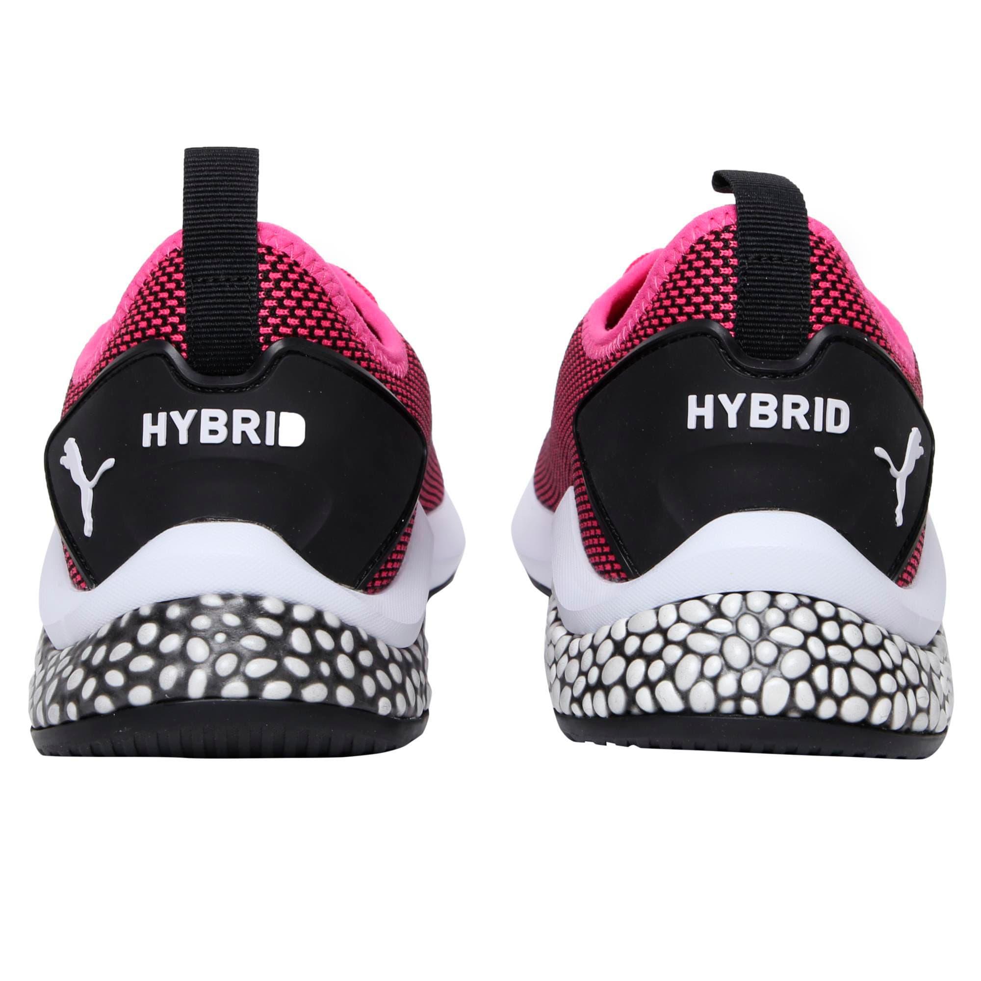 Thumbnail 3 of HYBRID NX Youth Trainers, Fuchsia Purple-White-Black, medium-IND