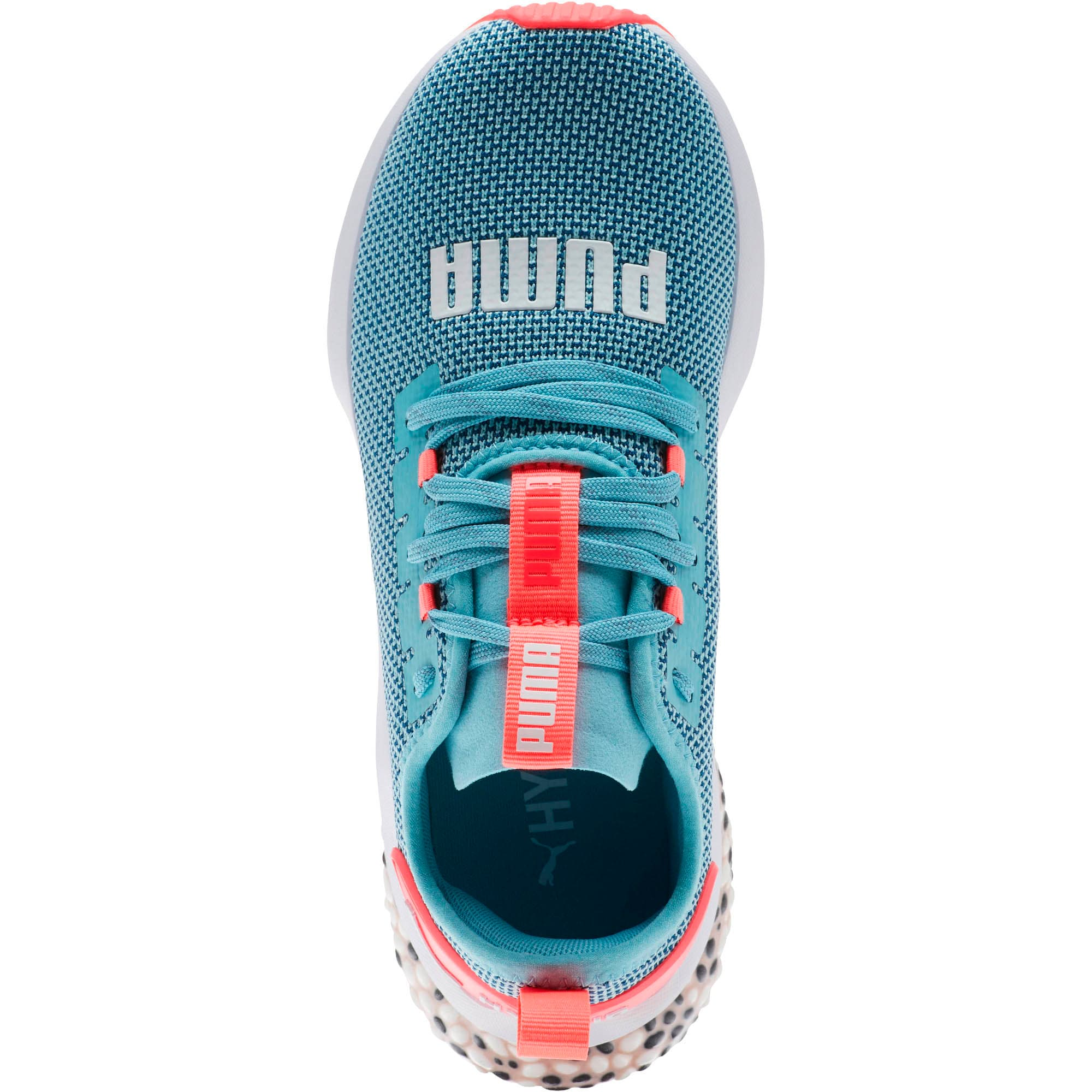 Thumbnail 5 of HYBRID NX Running Shoes JR, Milky Blue-Calypso Coral-Wht, medium