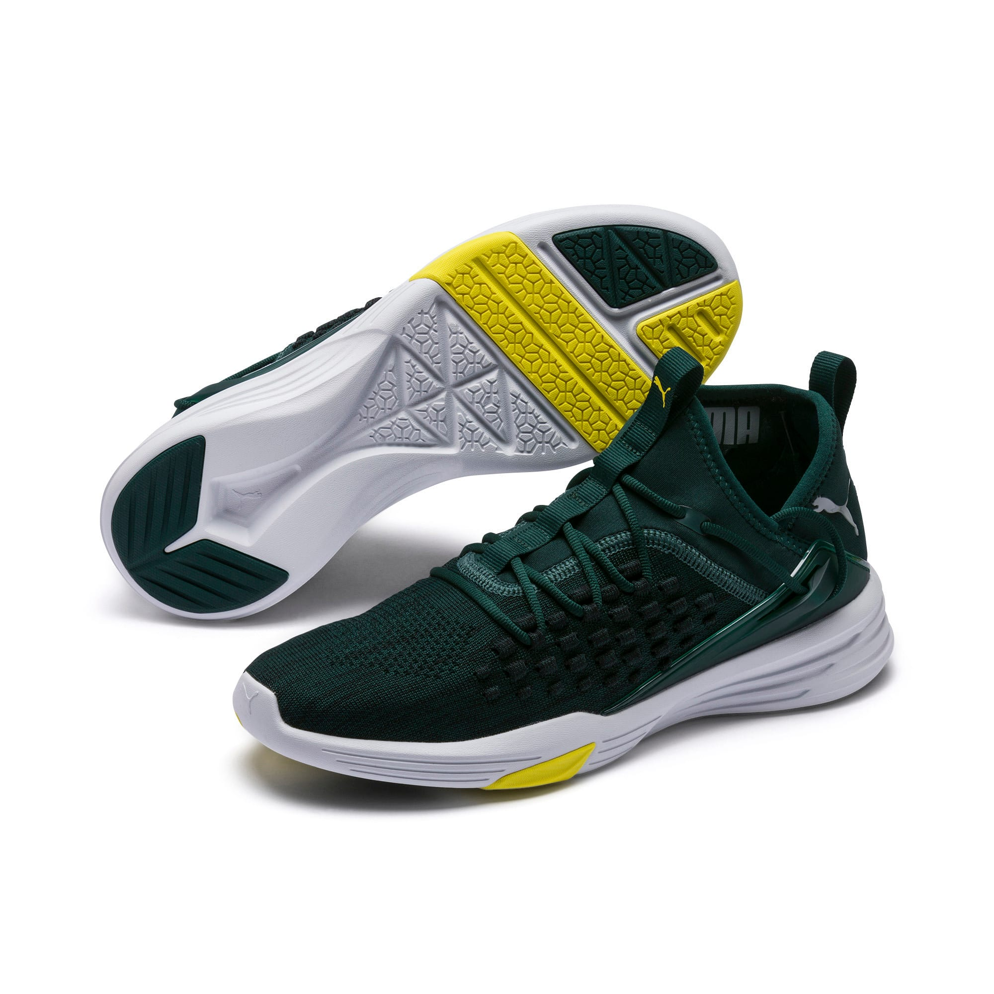Thumbnail 3 of Mantra Herren Sneaker, Ponderosa Pine-Puma White, medium