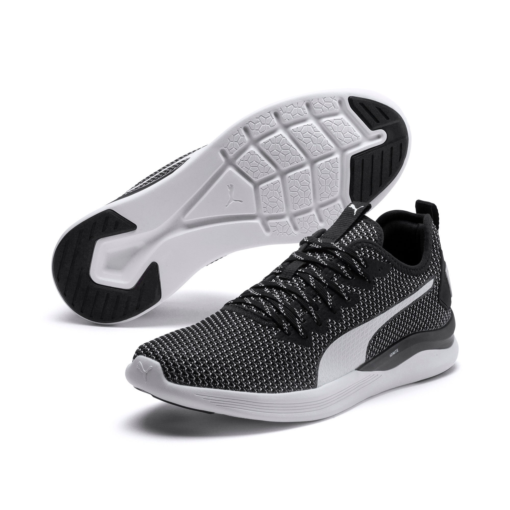 Thumbnail 2 of IGNITE Flash FS Men's Running Shoes, Puma Black-Puma White, medium