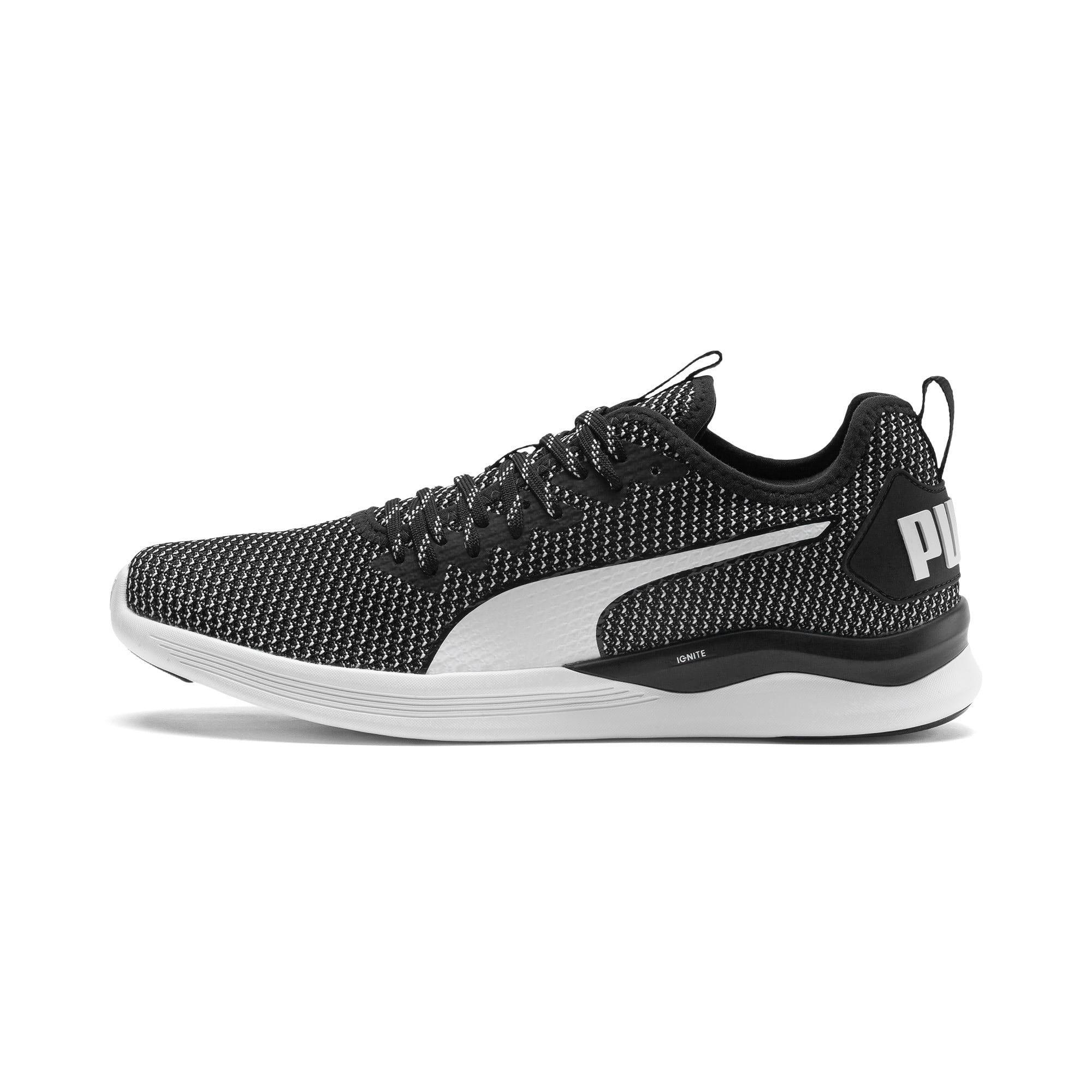Thumbnail 1 of IGNITE Flash FS Men's Running Shoes, Puma Black-Puma White, medium