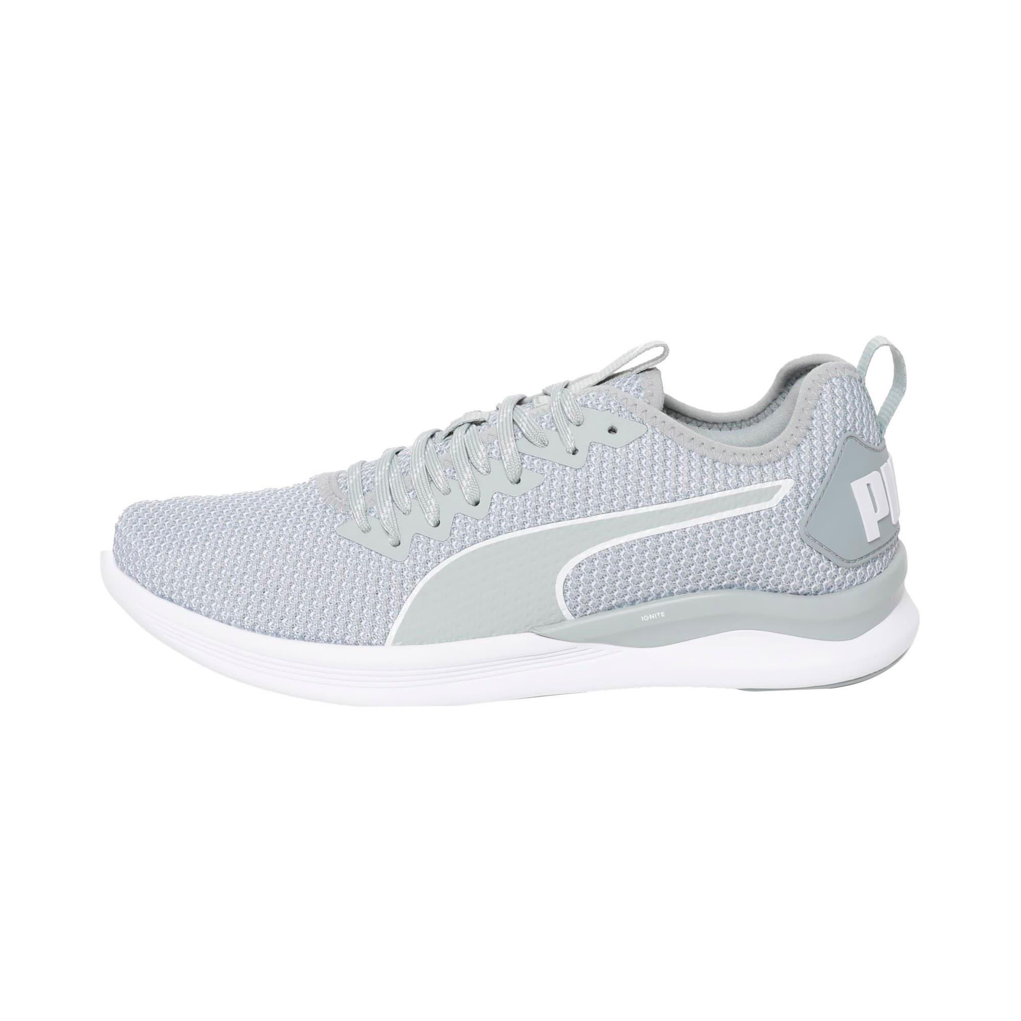 Thumbnail 1 of IGNITE Flash FS Men's Running Shoes, Quarry-Puma White, medium-IND