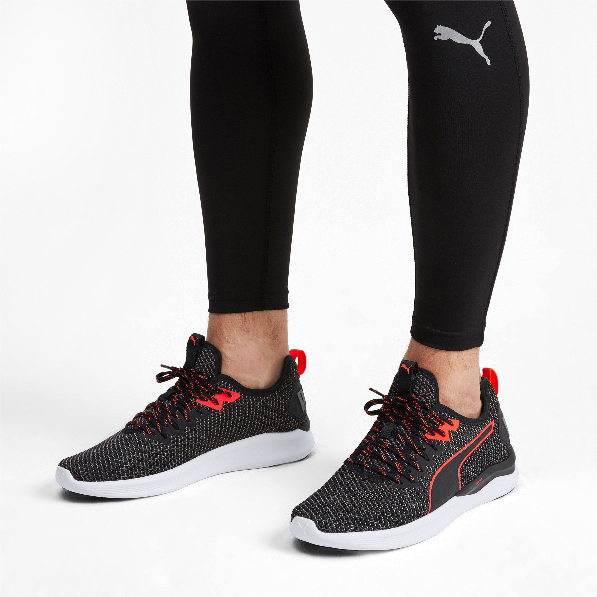 Thumbnail 2 of Scarpe Running IGNITE Flash FS uomo, Puma Black-Nrgy Red, medium