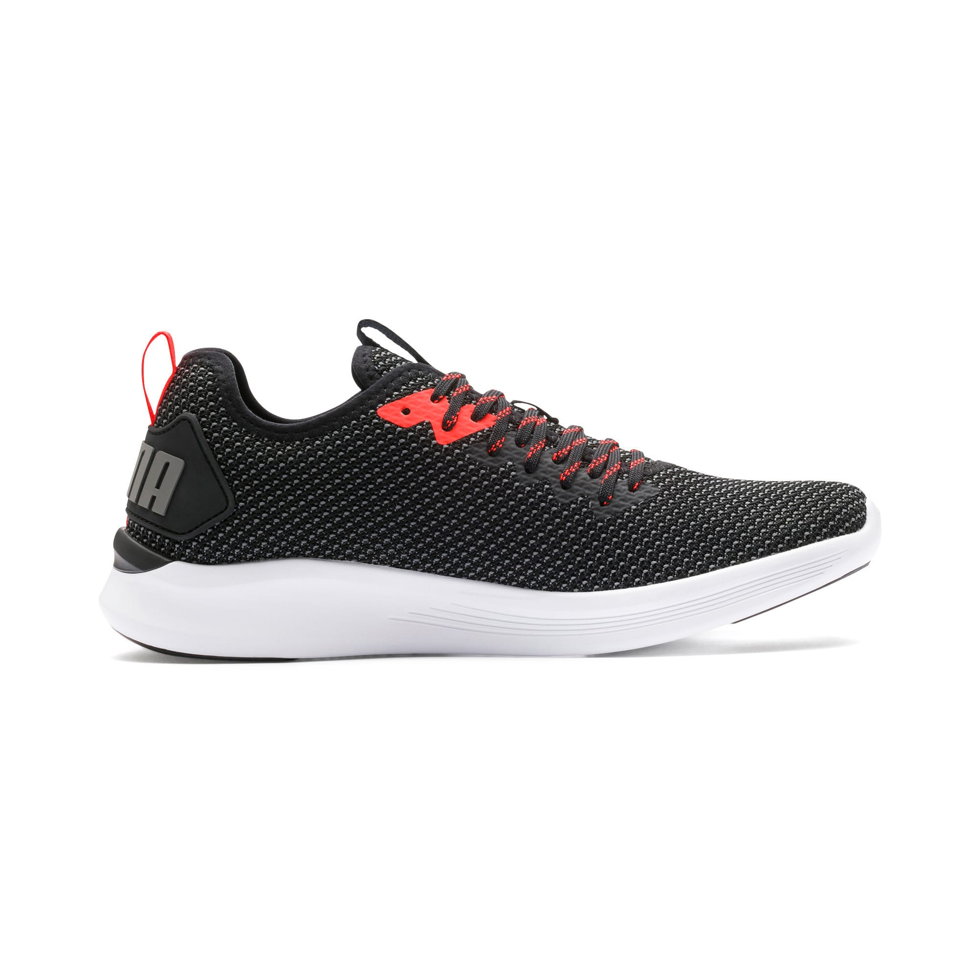Thumbnail 7 of IGNITE Flash FS Men's Running Shoes, Puma Black-Nrgy Red, medium-IND