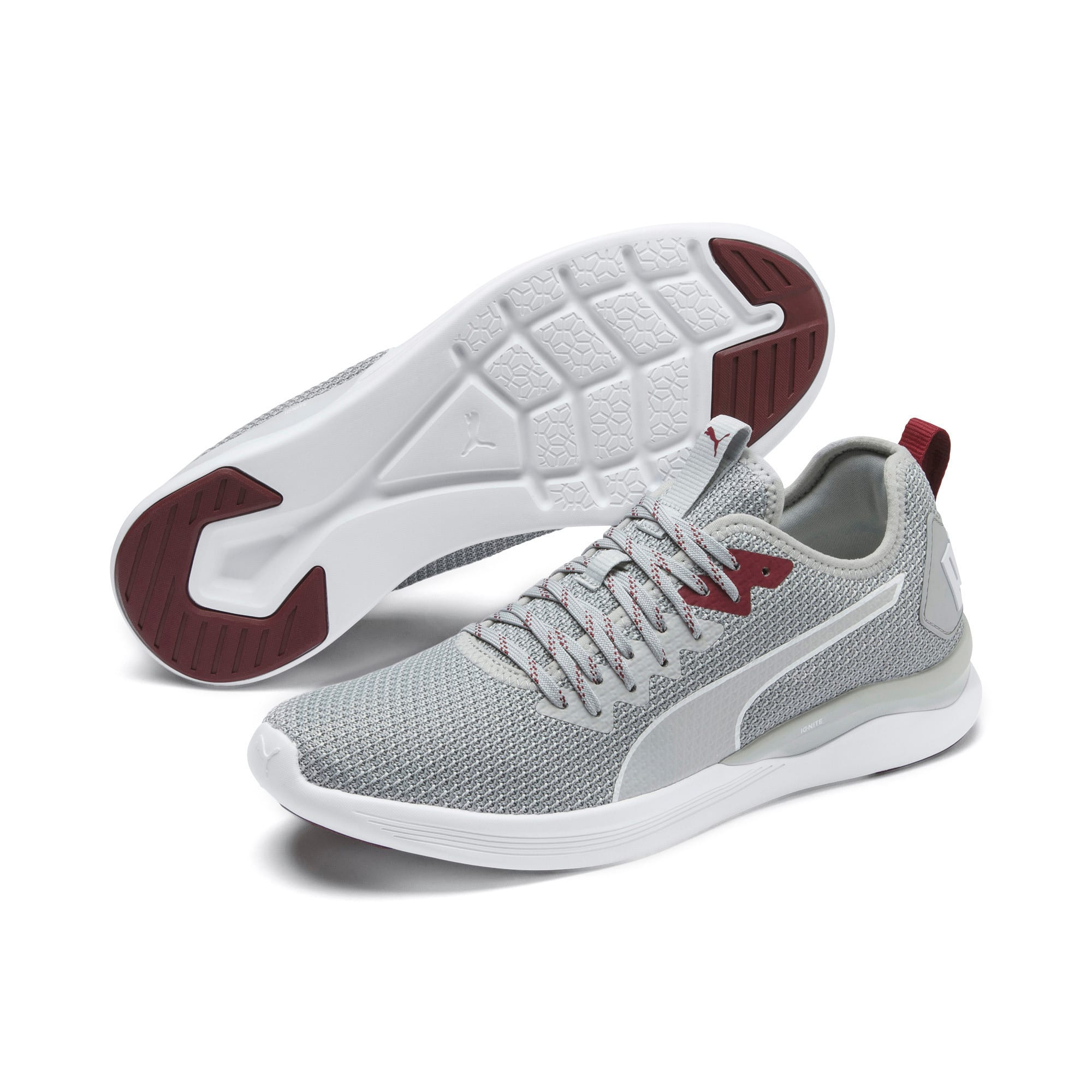 Thumbnail 3 of Scarpe Running IGNITE Flash FS uomo, High Rise-Glacier Gray-White, medium