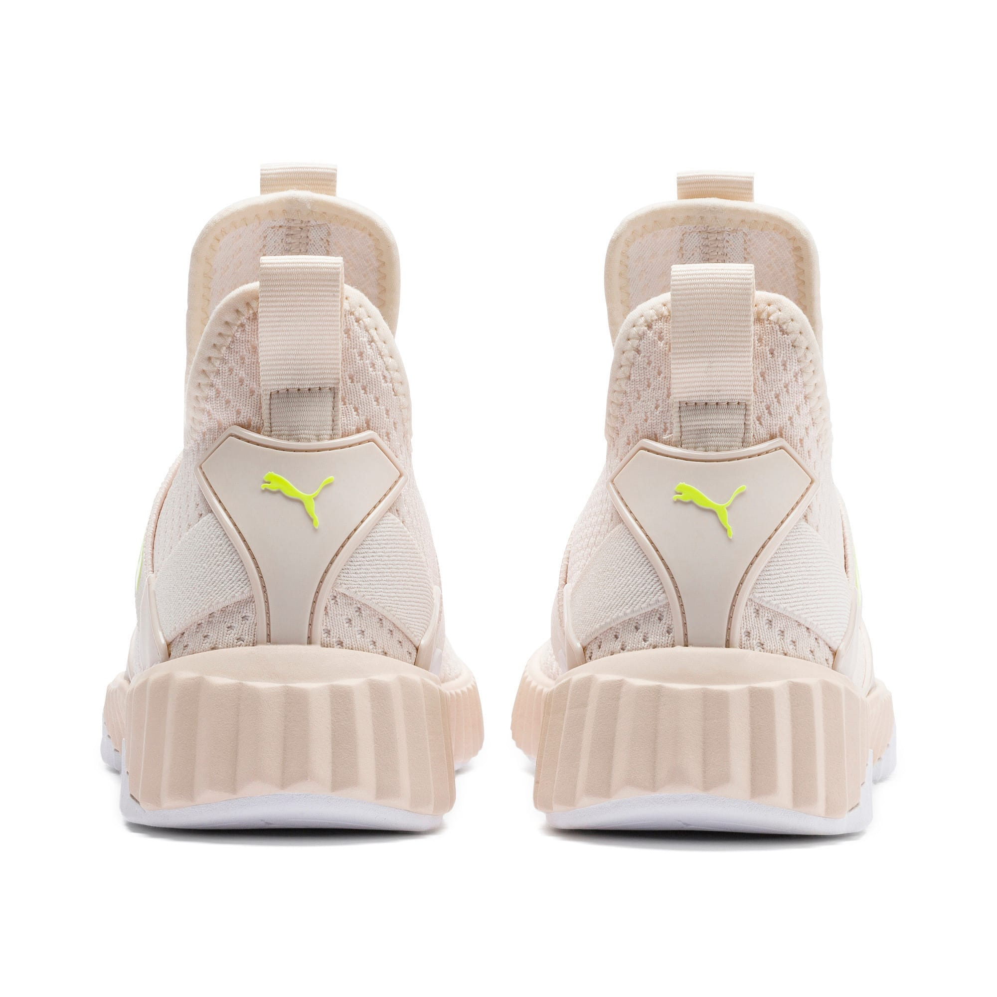 Thumbnail 4 of Defy Mid Core Women's Trainers, Pastel Parchment-Puma White, medium-IND
