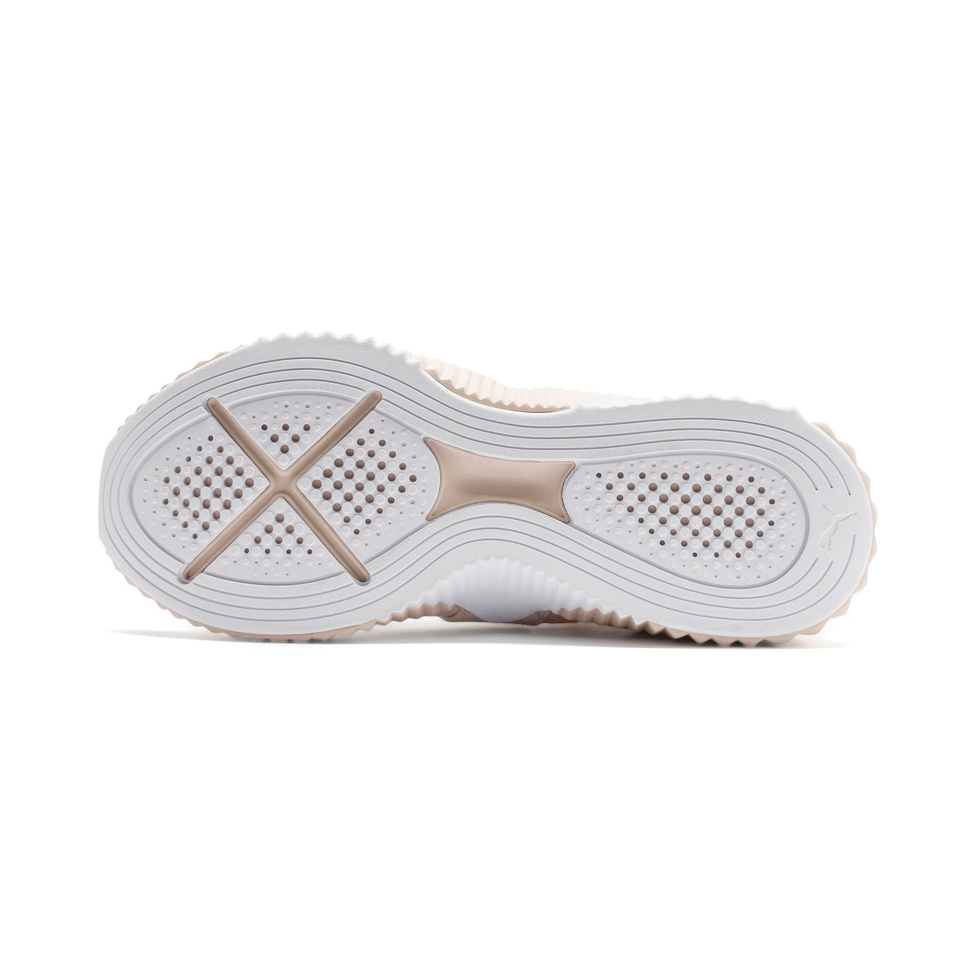 Thumbnail 5 of Defy Mid Core Women's Trainers, Pastel Parchment-Puma White, medium-IND