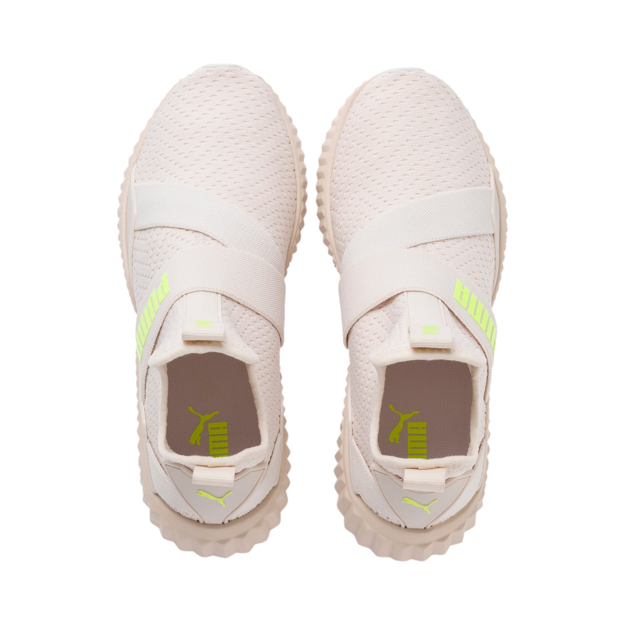 Thumbnail 7 of Defy Mid Core Women's Trainers, Pastel Parchment-Puma White, medium-IND