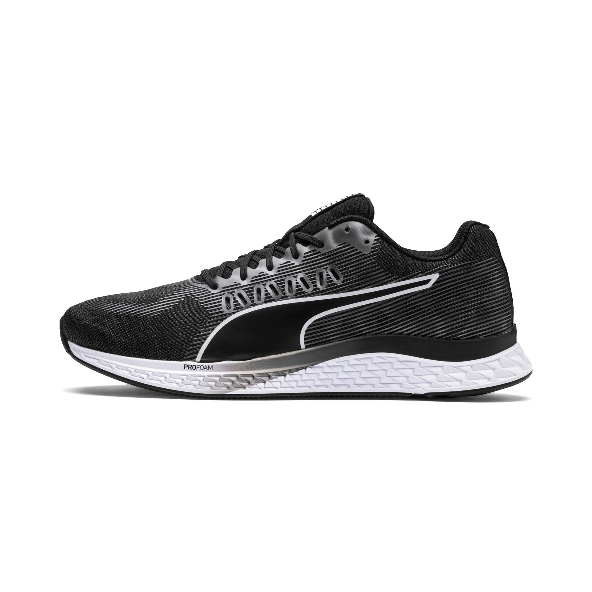 Thumbnail 1 of SPEED SUTAMINA Running Shoes, Puma Black-Puma White, medium