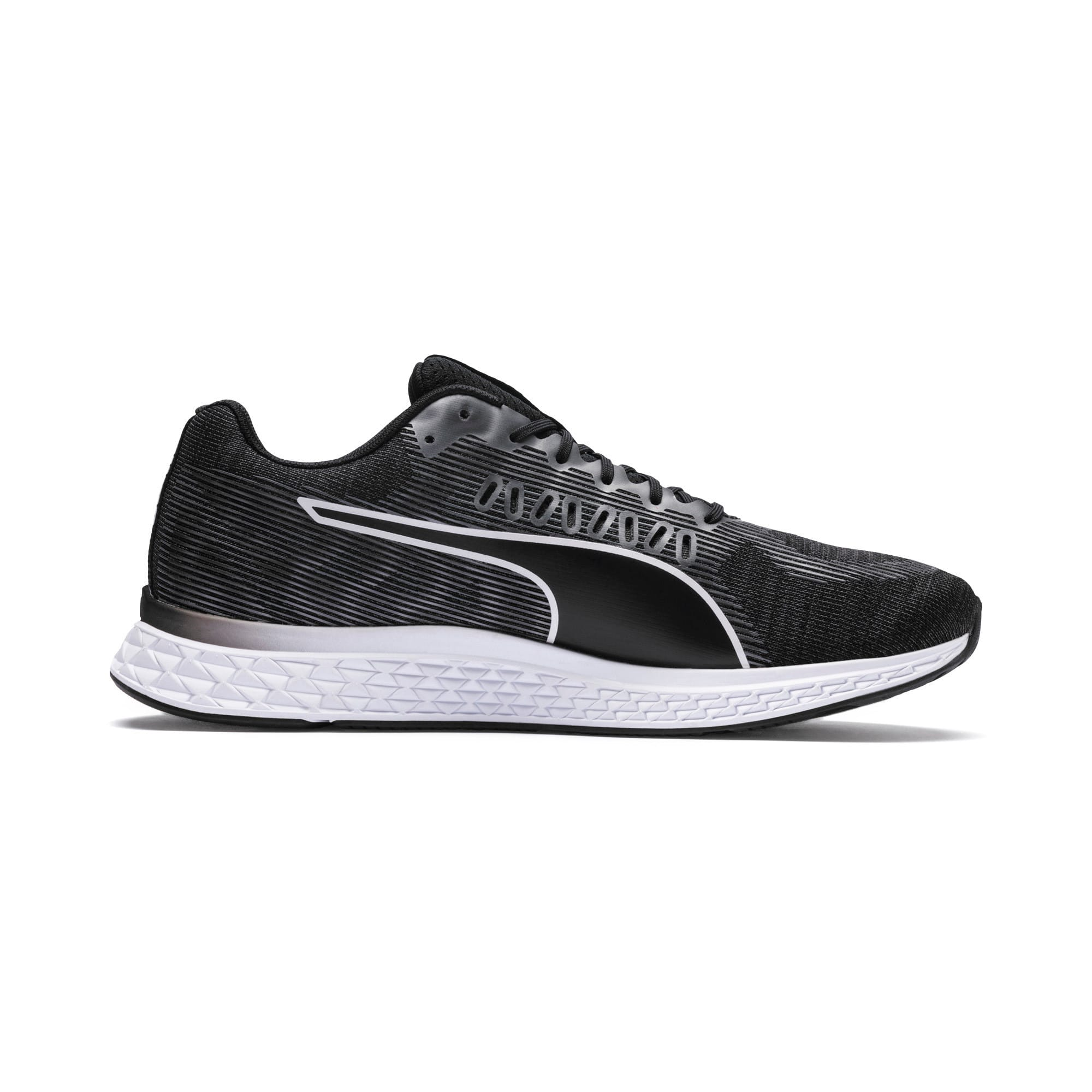 Thumbnail 5 of SPEED SUTAMINA Running Shoes, Puma Black-Puma White, medium