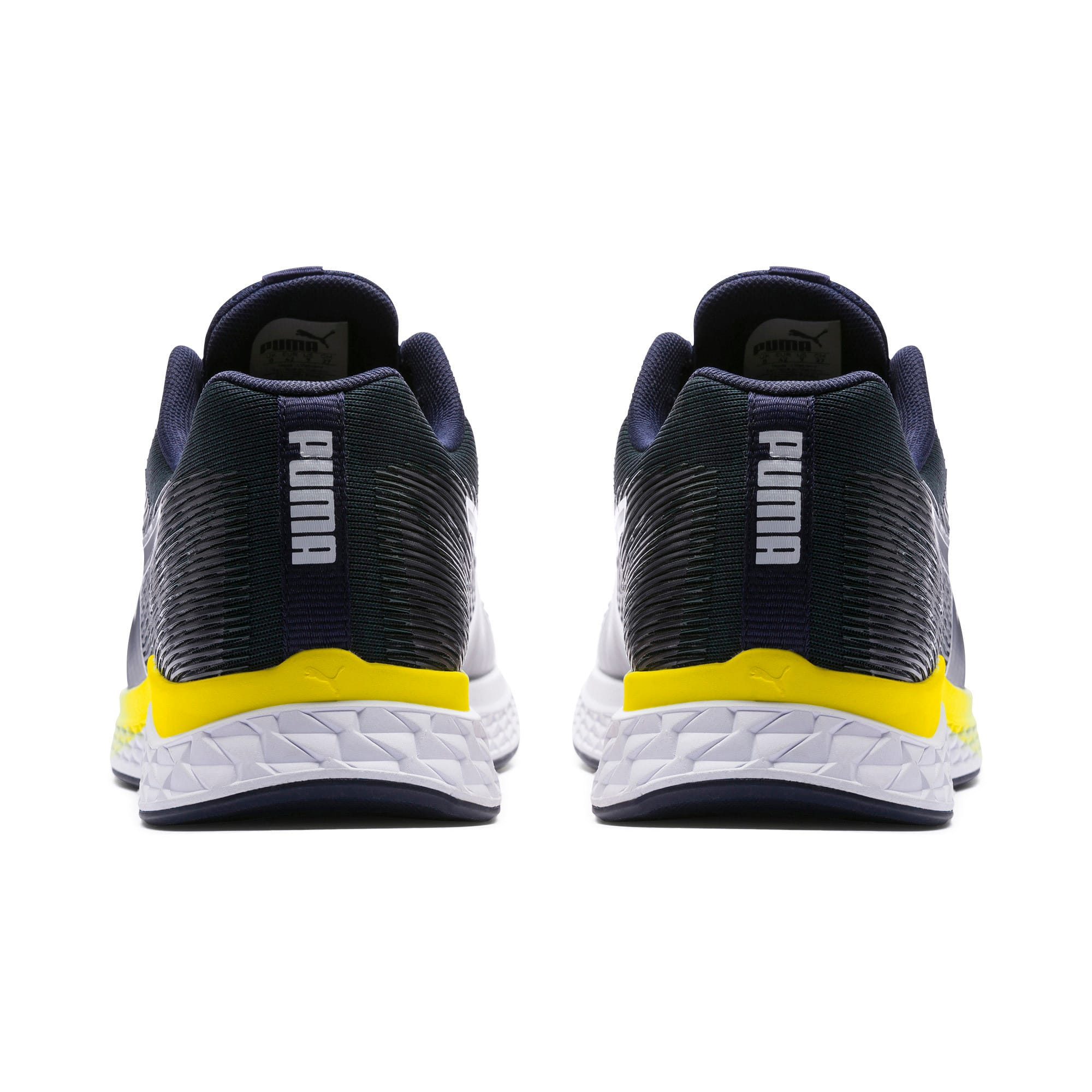 Thumbnail 3 of SPEED SUTAMINA Running Shoes, Peacoat-Blazing Yellow-White, medium