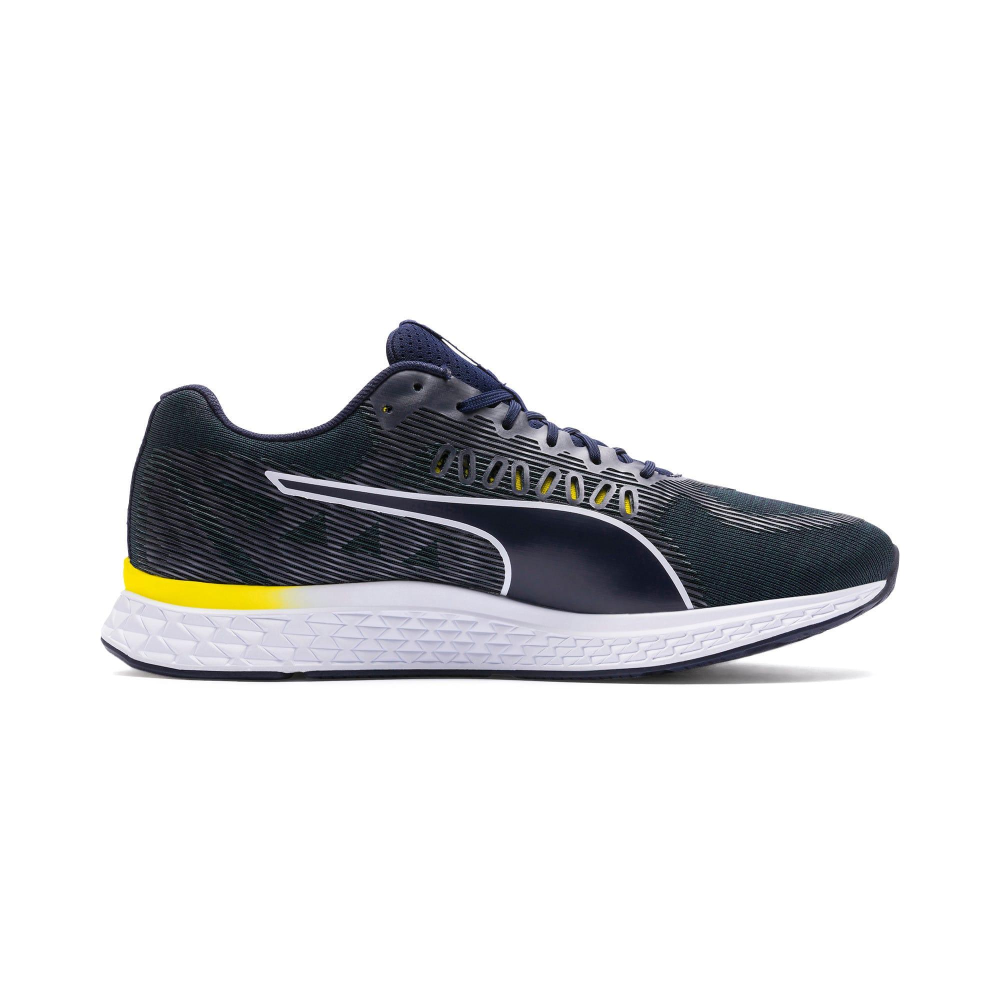 Thumbnail 5 of SPEED SUTAMINA Running Shoes, Peacoat-Blazing Yellow-White, medium