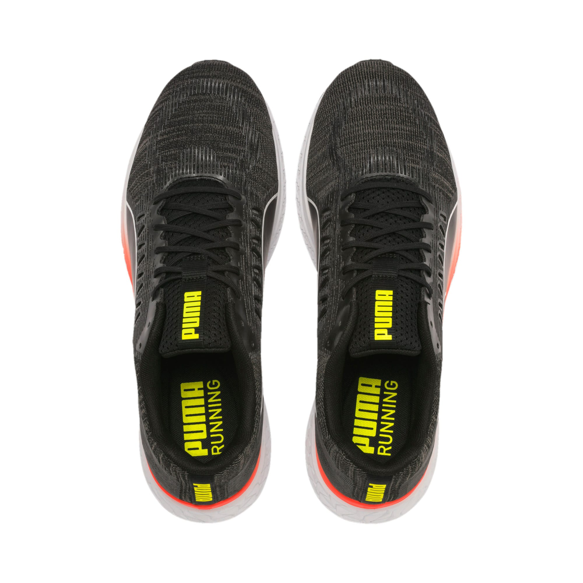 Thumbnail 7 of SPEED SUTAMINA Running Shoes, Black-CASTLEROCK-Yellow-Red, medium