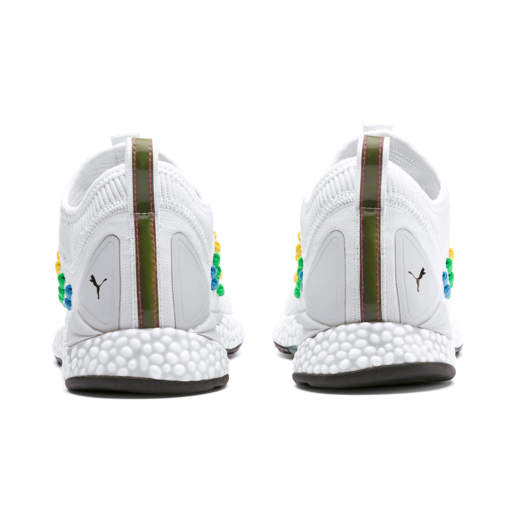 Thumbnail 4 of FUSEFIT HEATMAP Women's Running Shoes, Puma White-Glacier Gray, medium