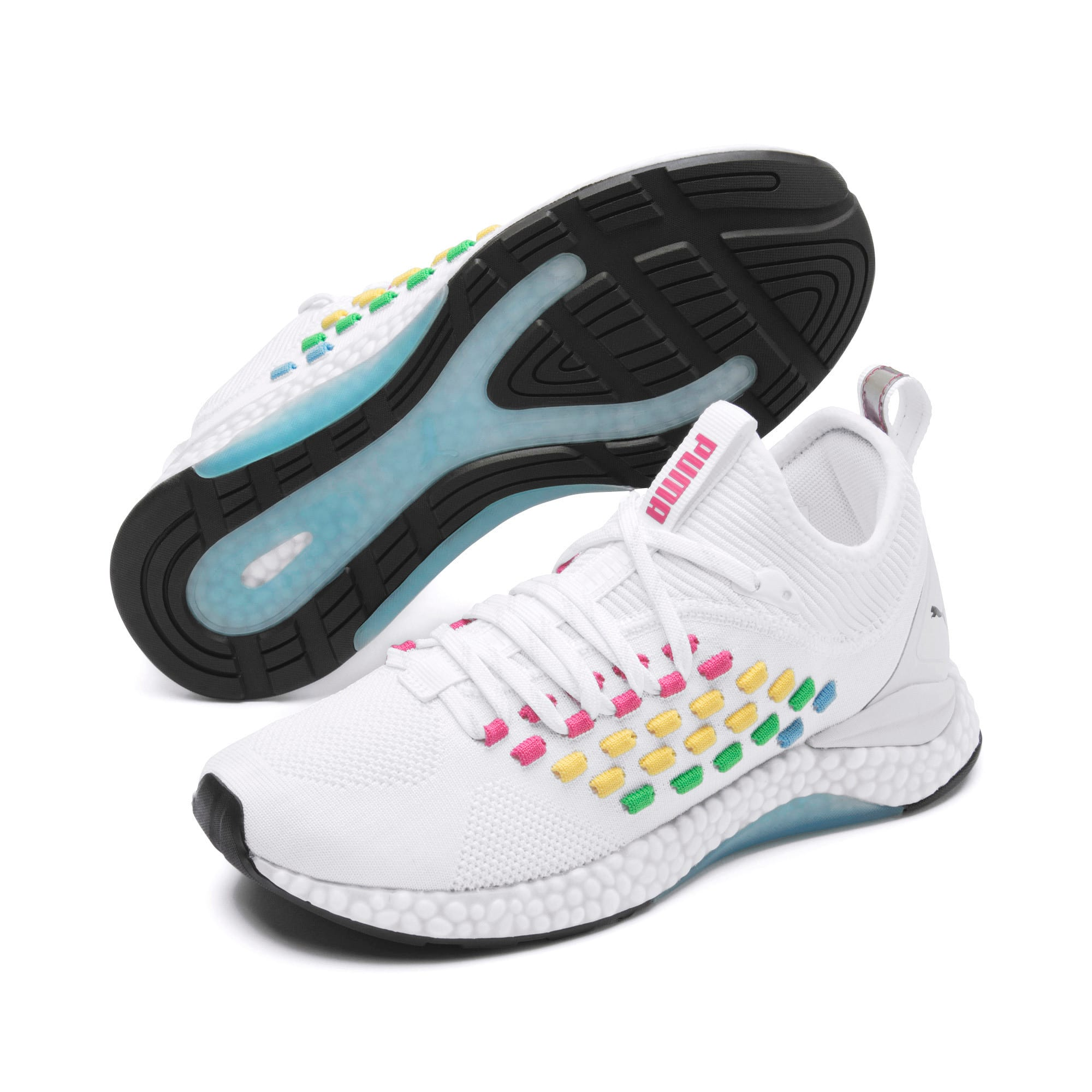 Thumbnail 2 of FUSEFIT HEATMAP Women's Running Shoes, Puma White-Glacier Gray, medium