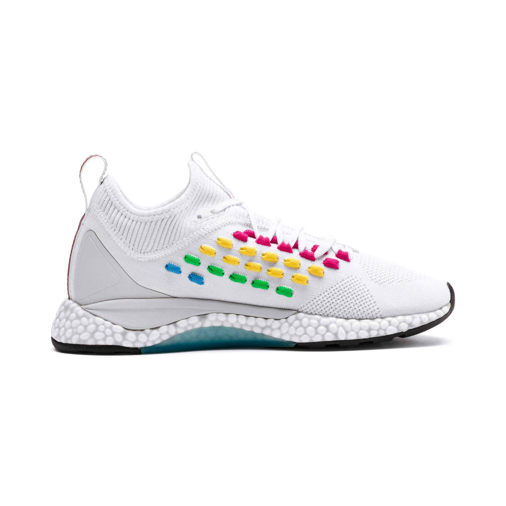 Thumbnail 5 of FUSEFIT HEATMAP Women's Running Shoes, Puma White-Glacier Gray, medium