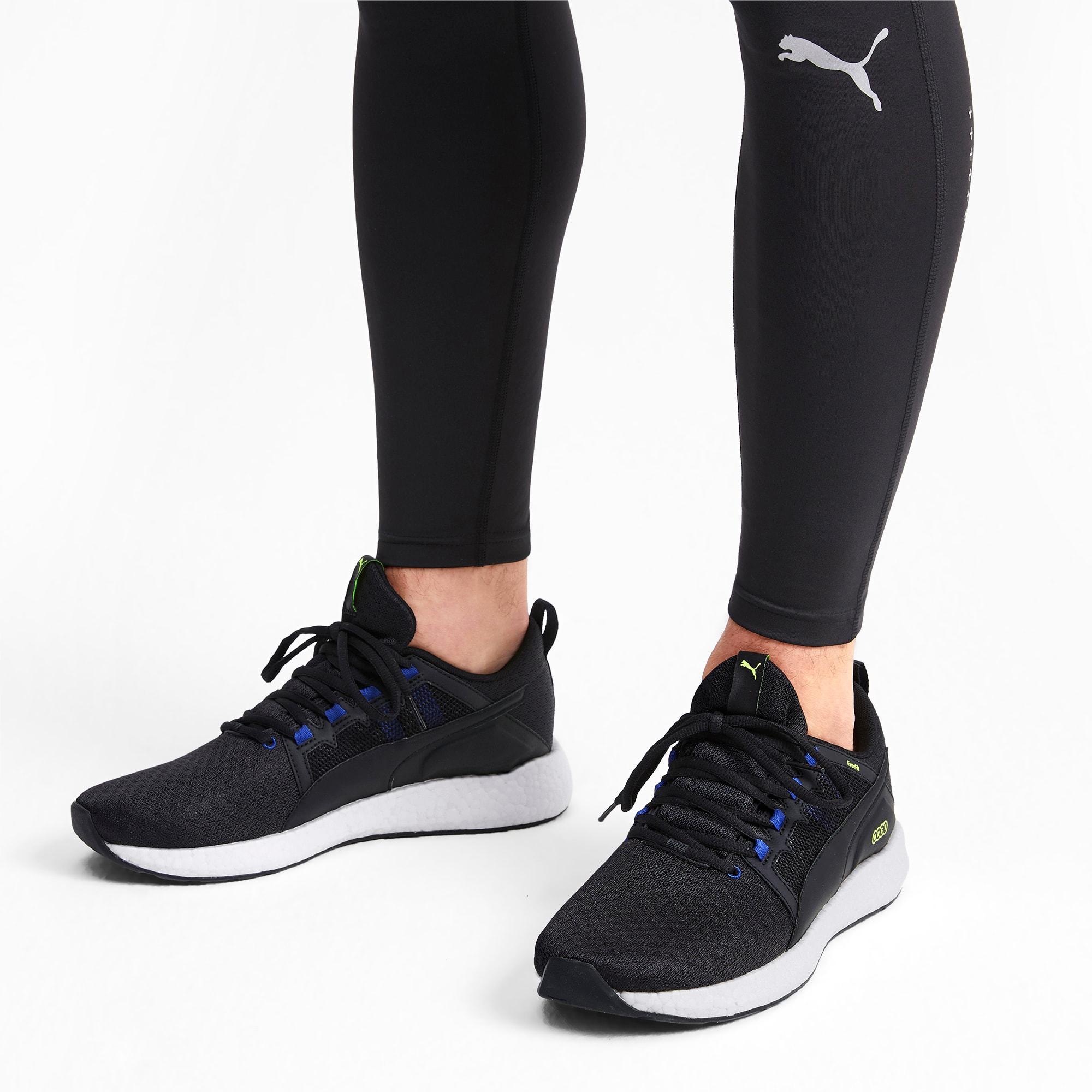 NRGY Neko Turbo Men's Running Shoes | Puma Black-Galaxy Blue