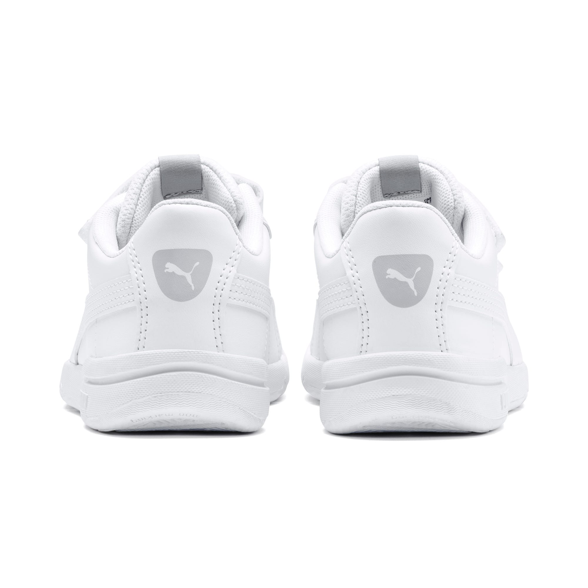 Thumbnail 3 of Stepfleex 2 SL VE V Kids' Trainers, Puma White-Puma White, medium