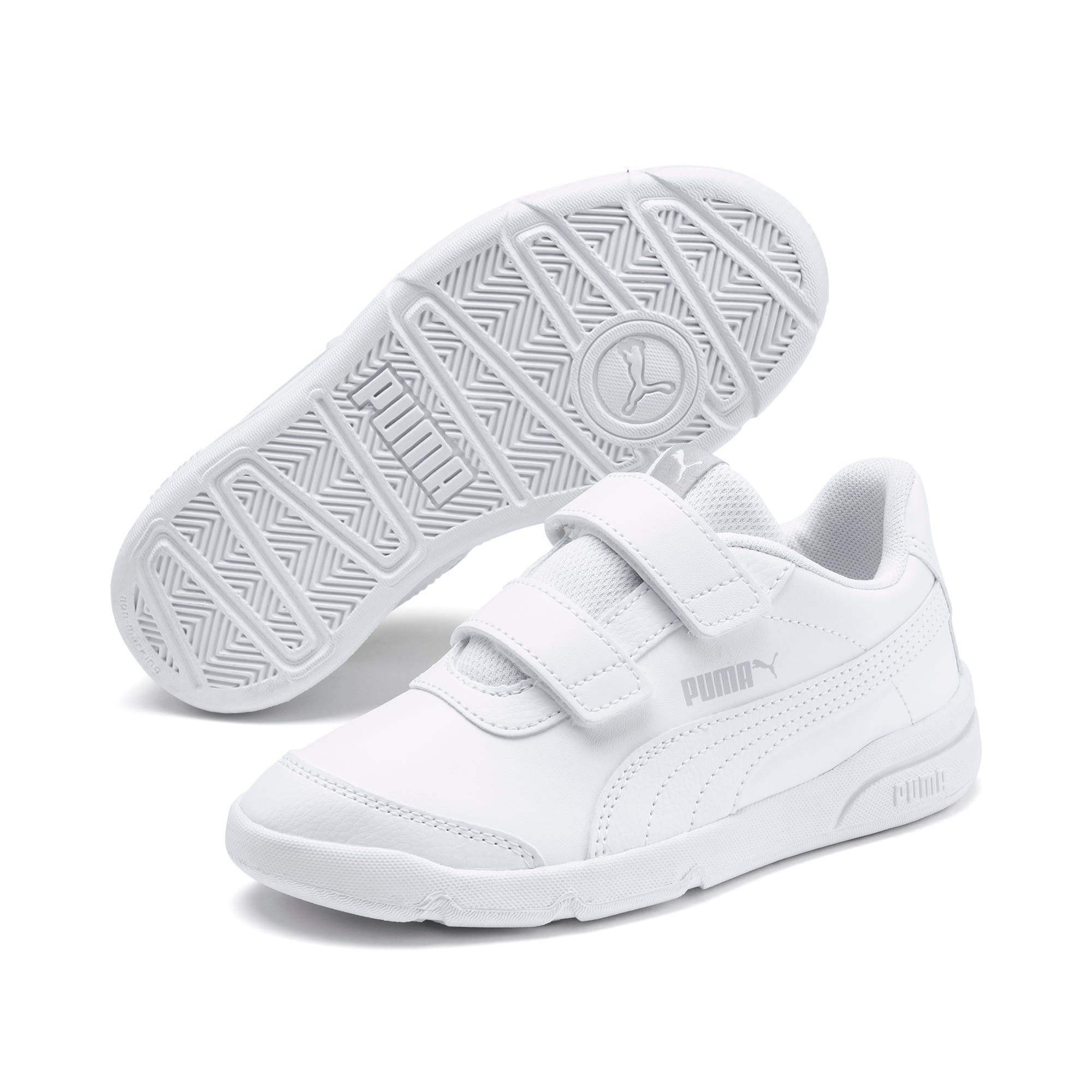 Thumbnail 2 of Stepfleex 2 SL VE V Kids' Trainers, Puma White-Puma White, medium