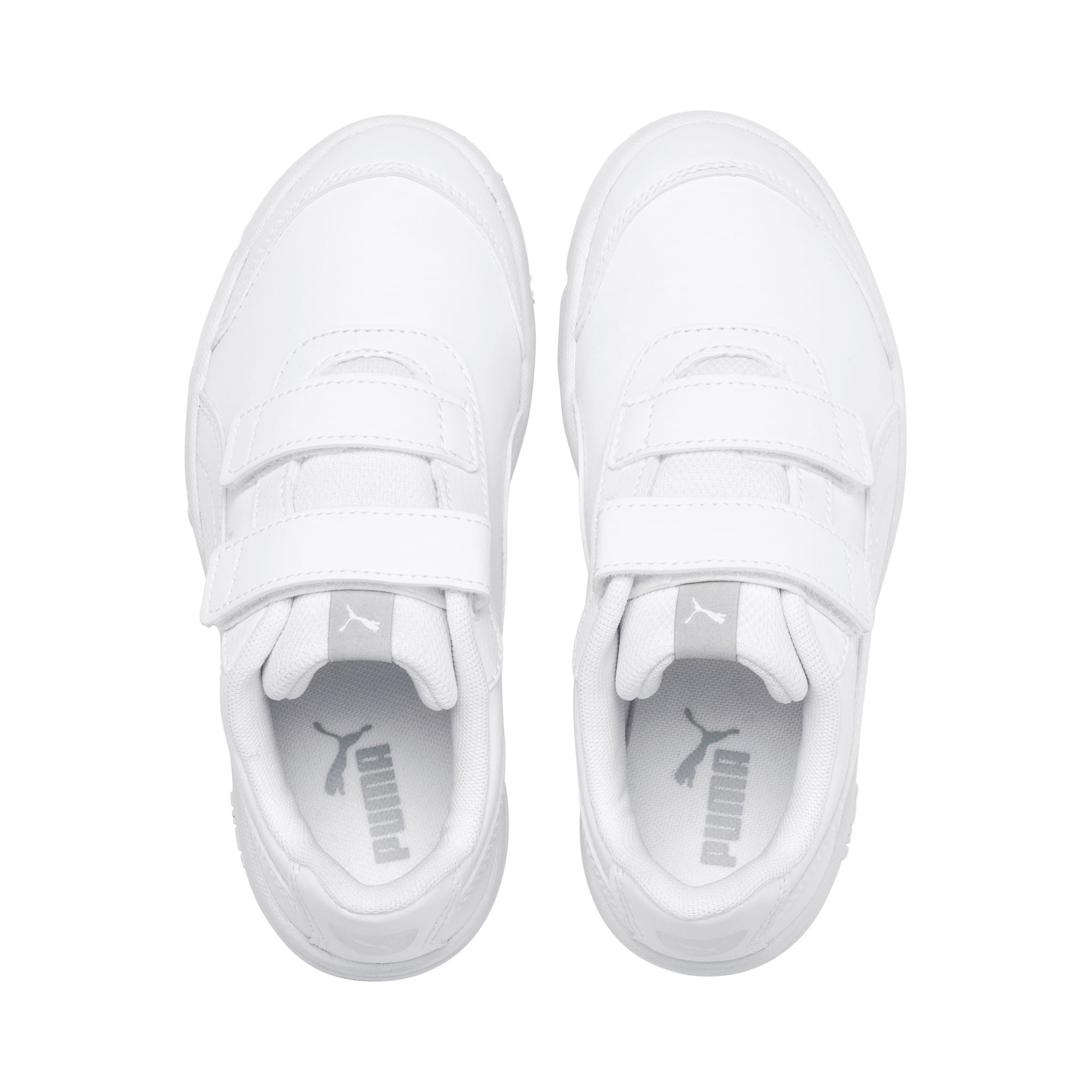 Thumbnail 6 of Stepfleex 2 SL VE V Kids' Trainers, Puma White-Puma White, medium
