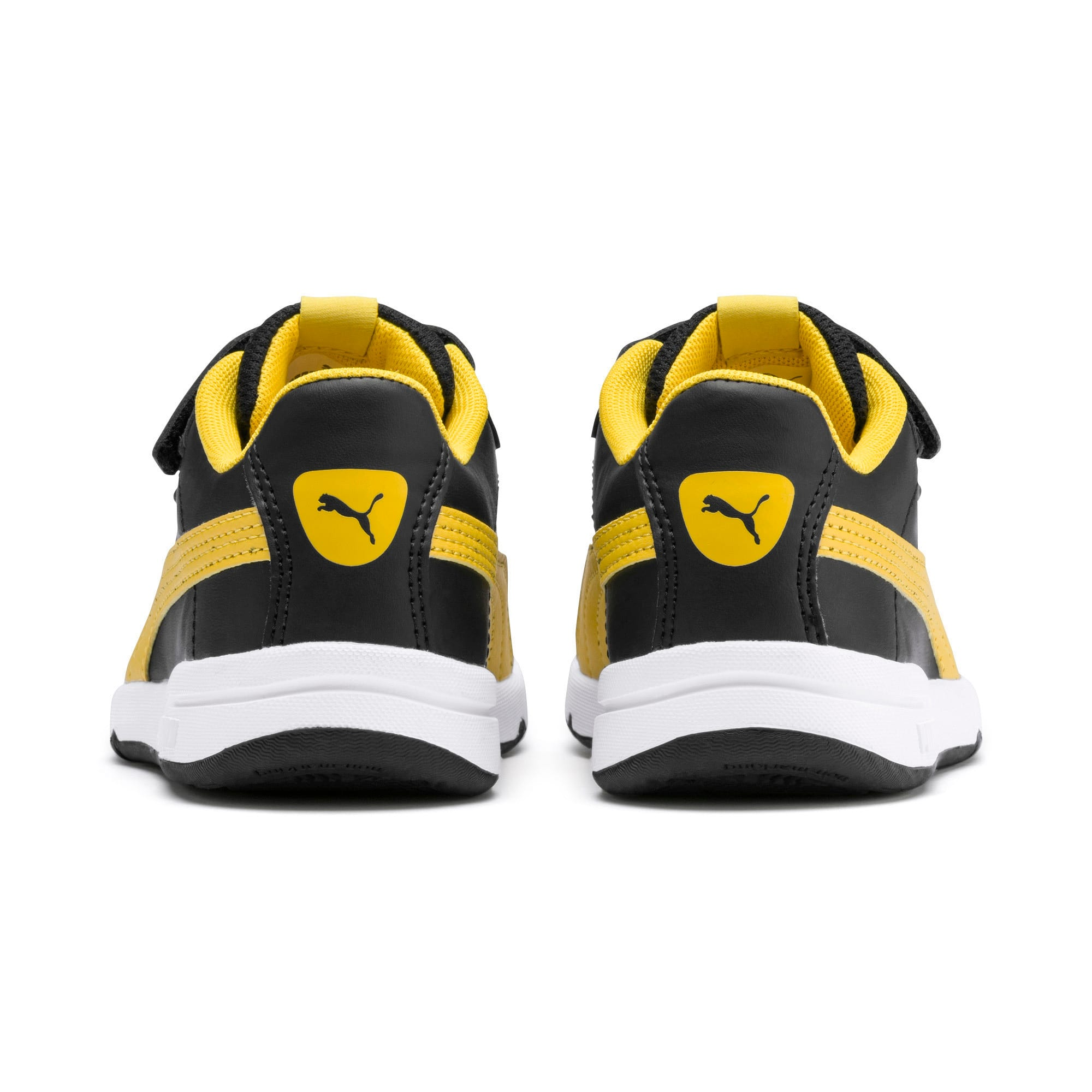 Thumbnail 3 of Stepfleex 2 SL VE V Kids' Trainers, Puma Black-Sulphur-White, medium-IND