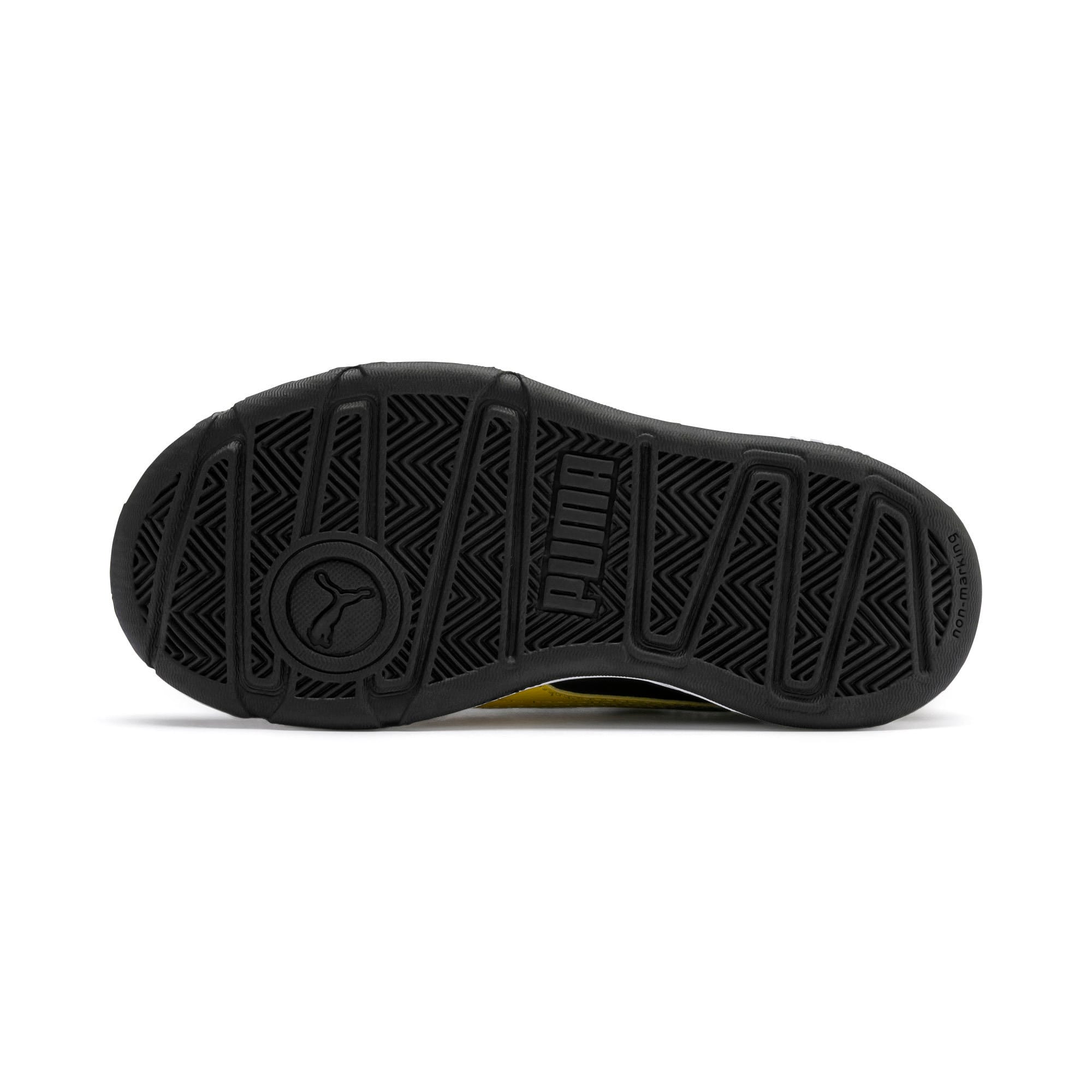 Thumbnail 4 of Stepfleex 2 SL VE V Kids' Trainers, Puma Black-Sulphur-White, medium-IND