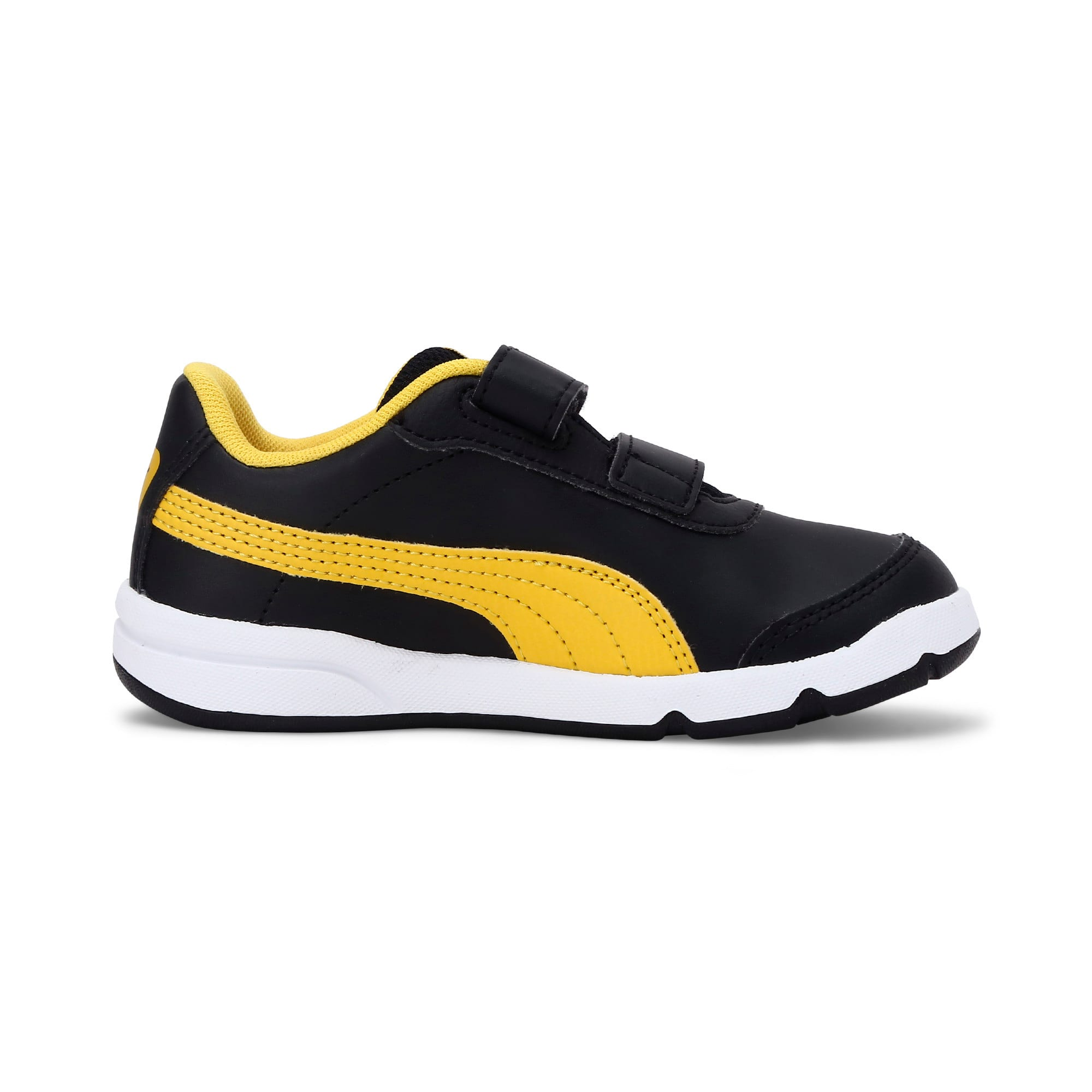 Thumbnail 5 of Stepfleex 2 SL VE V Kids' Trainers, Puma Black-Sulphur-White, medium-IND