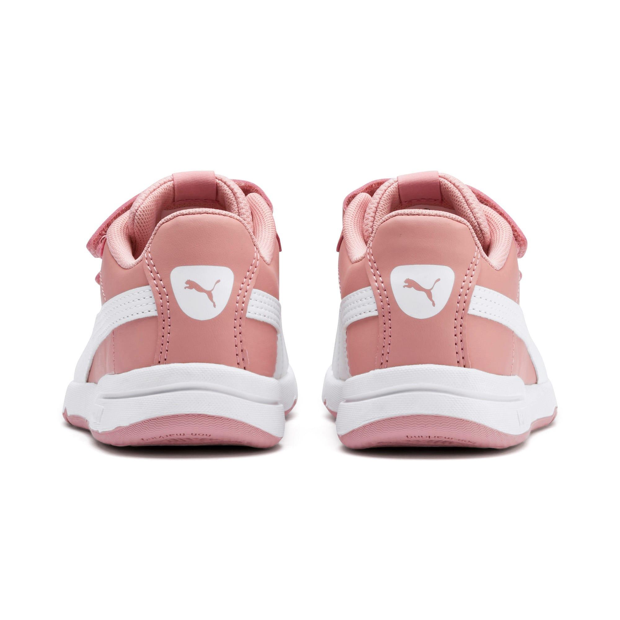 Thumbnail 3 of Stepfleex 2 SL VE V Kids Sneaker, Bridal Rose-Puma White, medium