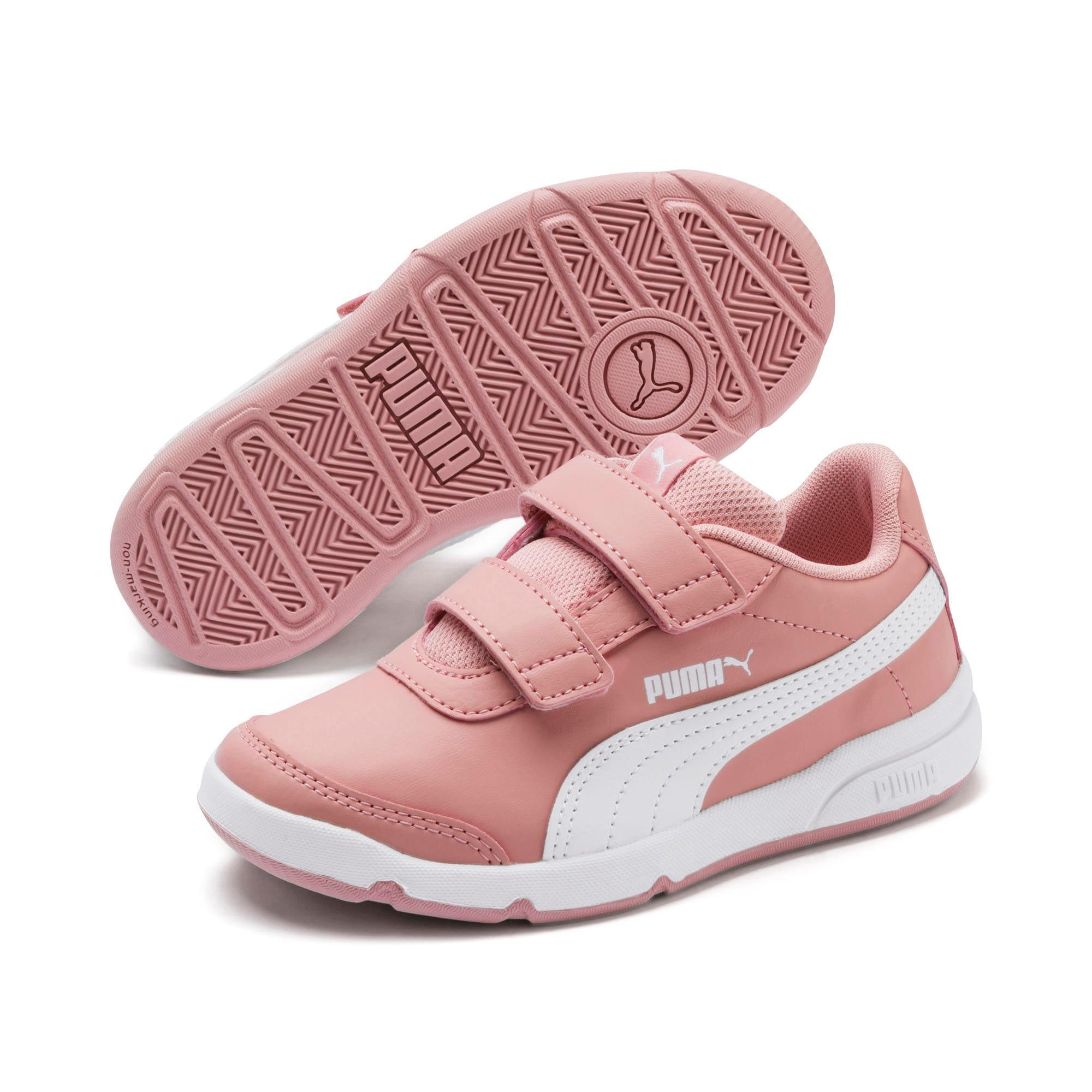 Thumbnail 2 of Stepfleex 2 SL VE V Kids Sneaker, Bridal Rose-Puma White, medium