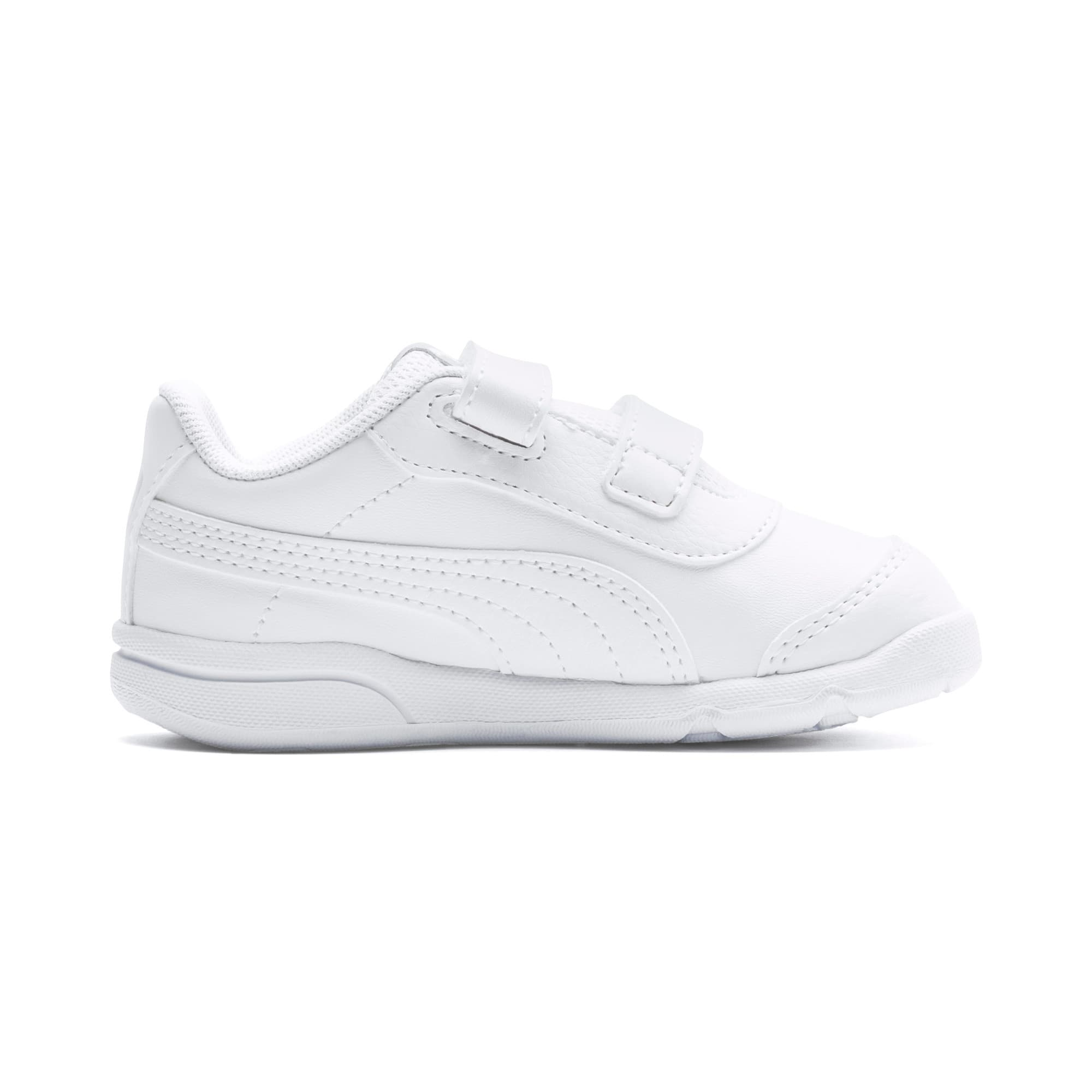 Thumbnail 5 of Stepfleex 2 SL VE V Babies Sneaker, Puma White-Puma White, medium