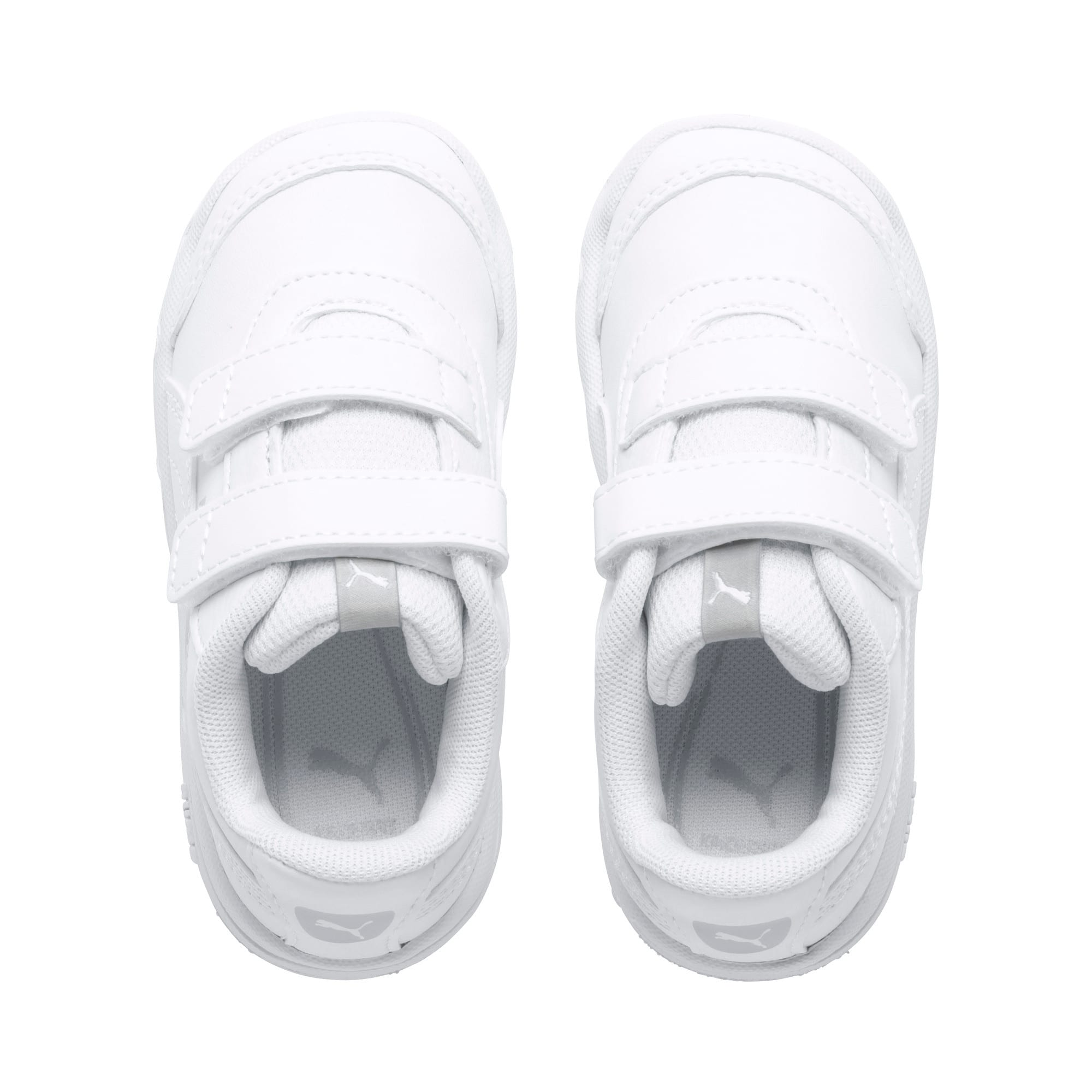 Thumbnail 6 of Stepfleex 2 SL VE V Babies Sneaker, Puma White-Puma White, medium