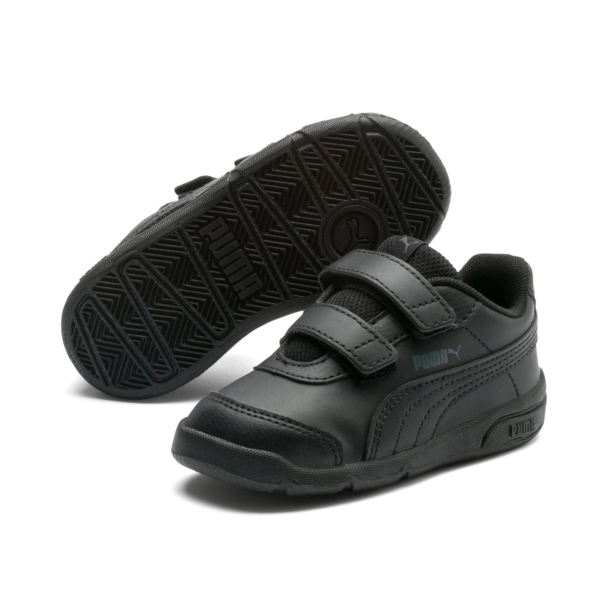 Thumbnail 2 of Stepfleex 2 SL VE V Babies' Trainers, Puma Black-Puma Black, medium