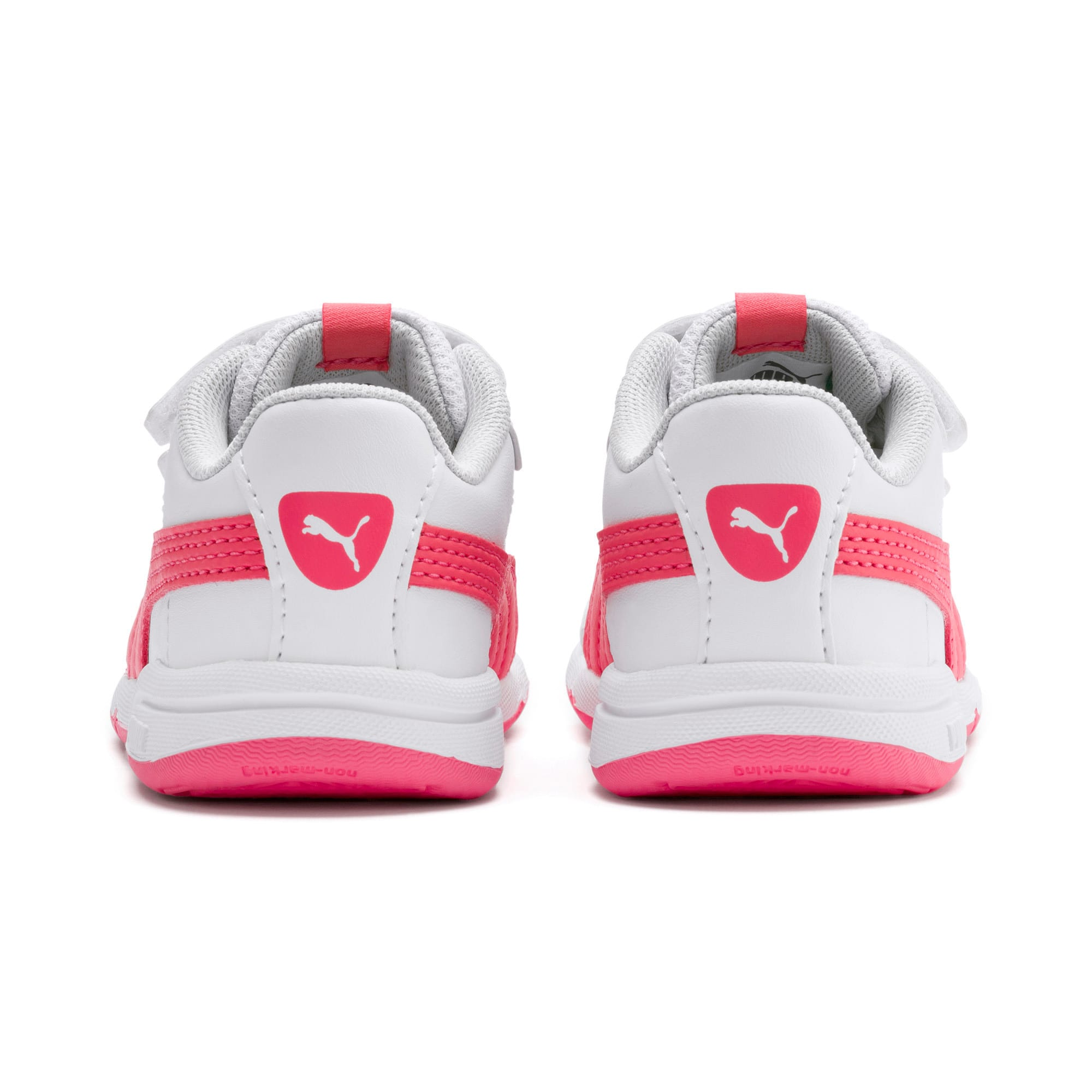 Thumbnail 3 of Stepfleex 2 SL VE V Babies Sneaker, White-Calypso Coral-G Gray, medium