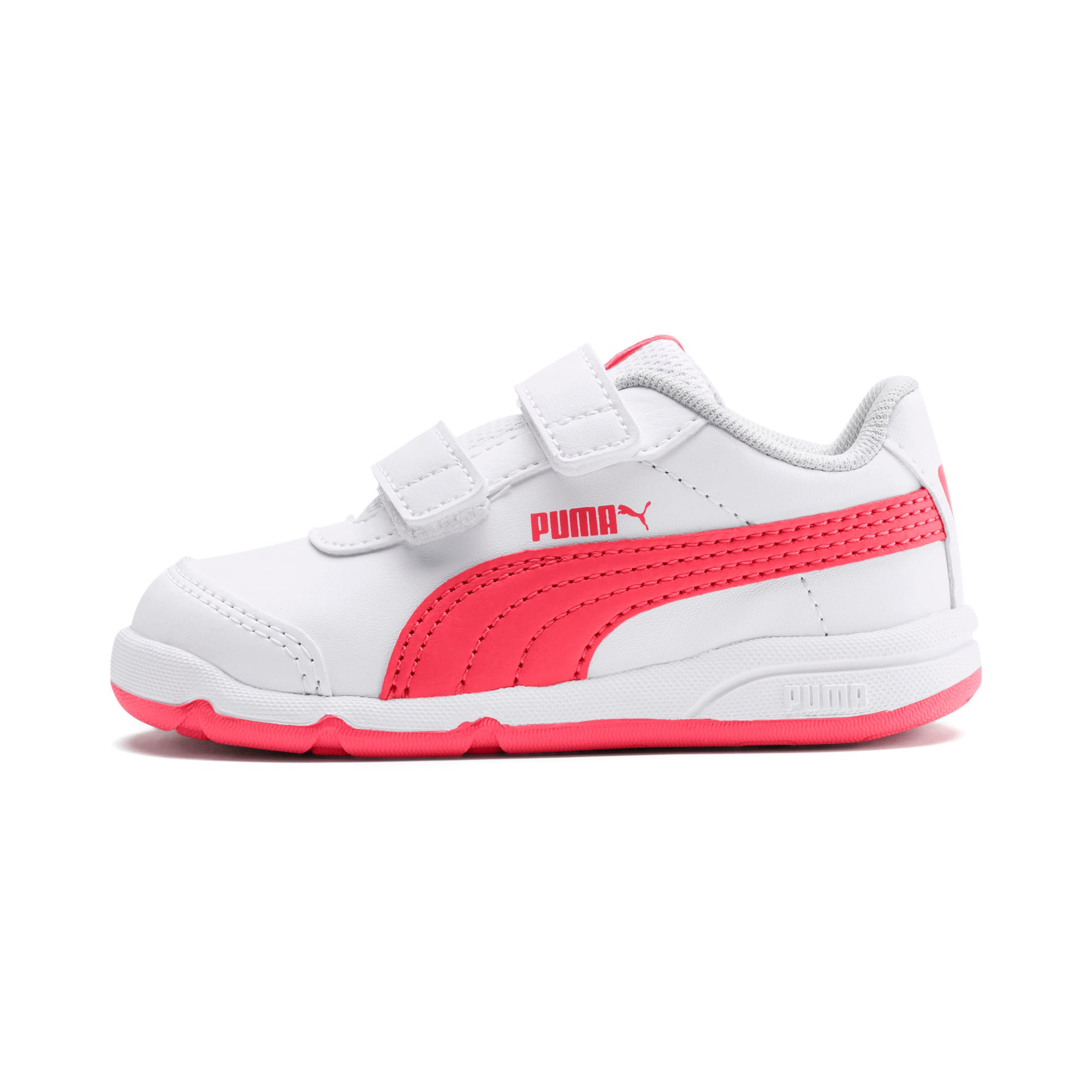 Thumbnail 1 of Stepfleex 2 SL VE V Babies Sneaker, White-Calypso Coral-G Gray, medium