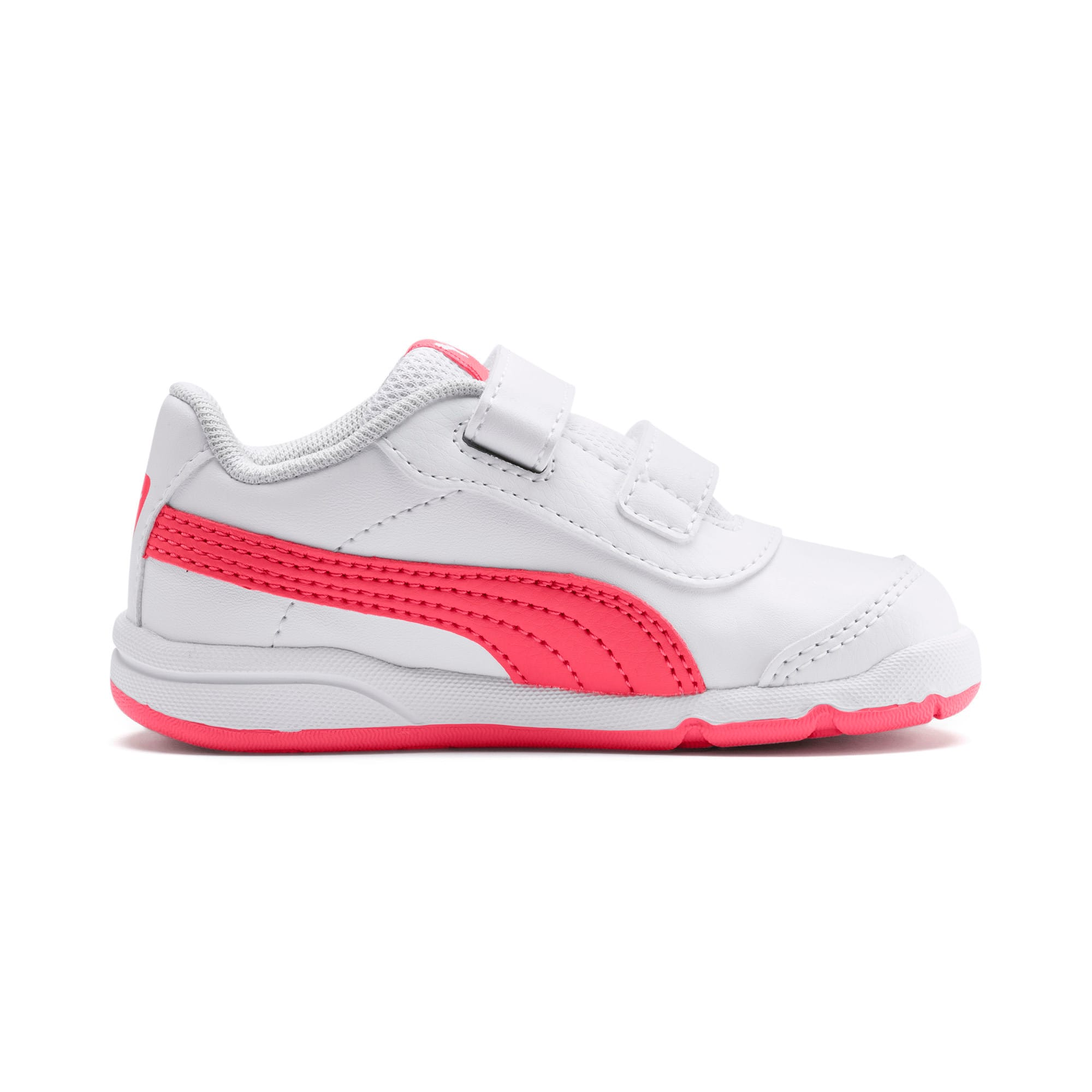 Thumbnail 5 of Stepfleex 2 SL VE V Babies Sneaker, White-Calypso Coral-G Gray, medium