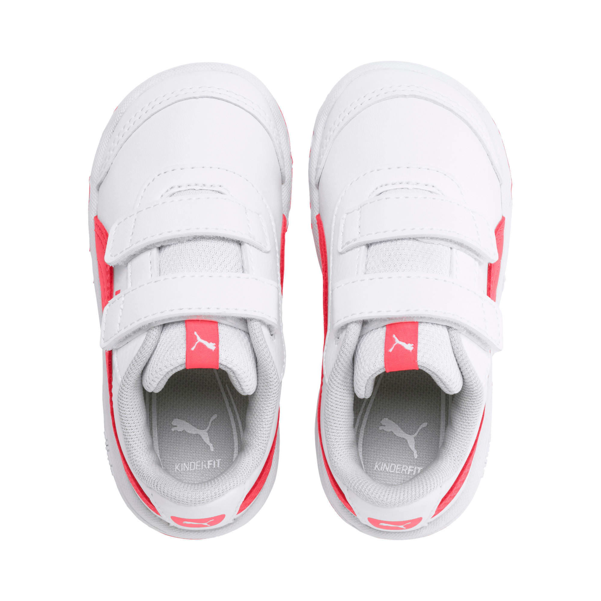 Thumbnail 6 of Stepfleex 2 SL VE V Babies Sneaker, White-Calypso Coral-G Gray, medium