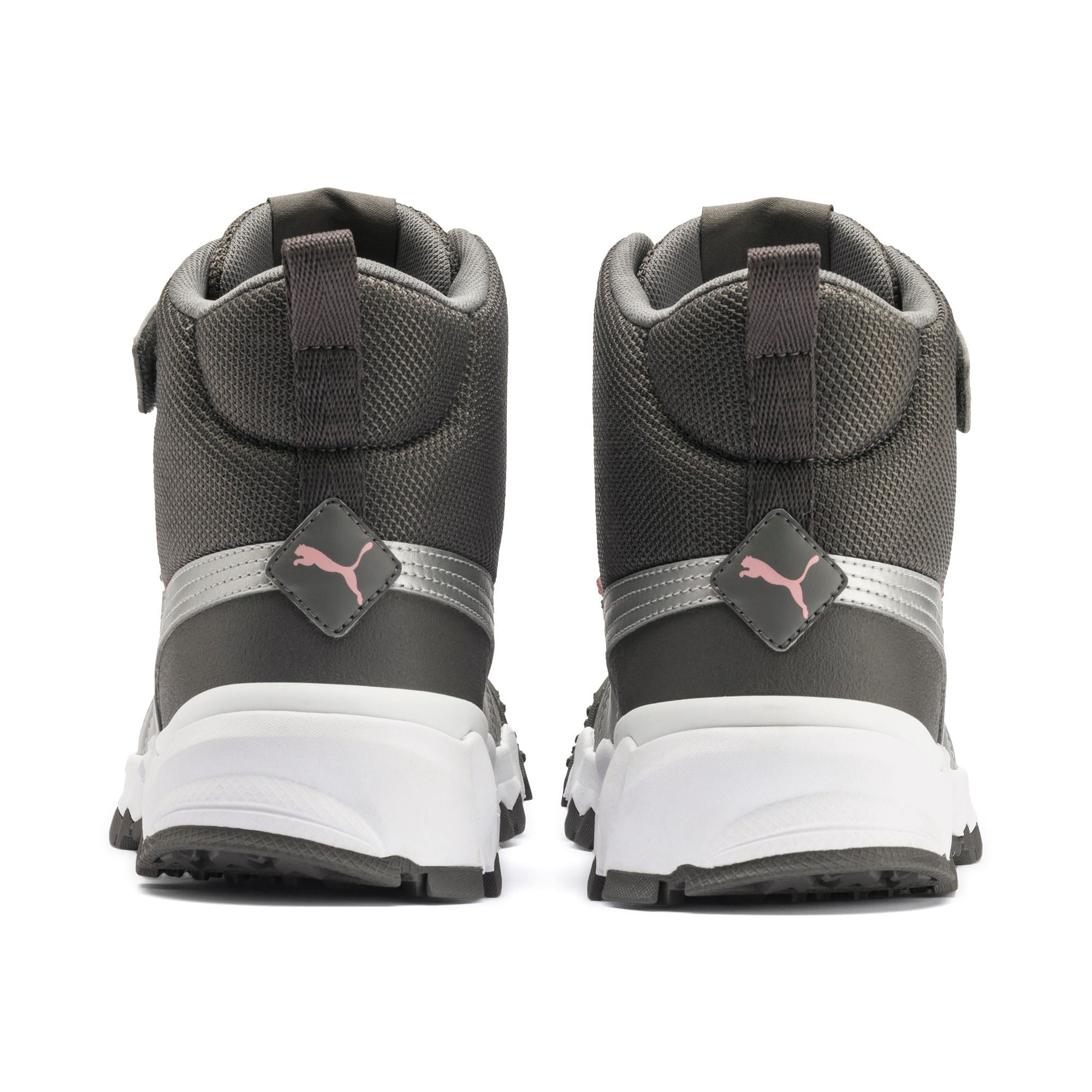 Thumbnail 3 of Maka V Youth Trainers, Steel Gray-Bridal Rose, medium
