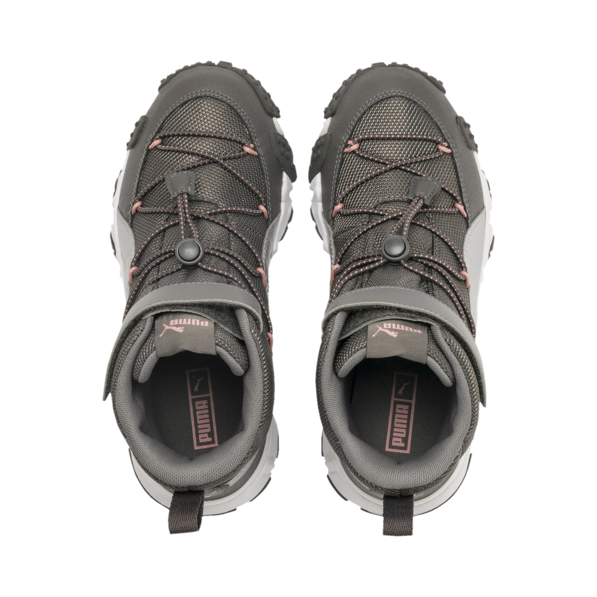 Thumbnail 6 of Maka V Youth Trainers, Steel Gray-Bridal Rose, medium